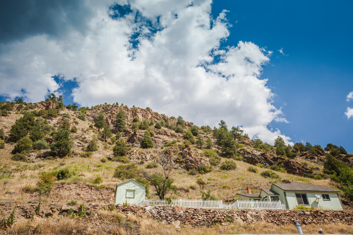 Single Family Home for Active at Own 2 homes, a building lot and 2 mines!! 1616 Wall Street Idaho Springs, Colorado 80452 United States