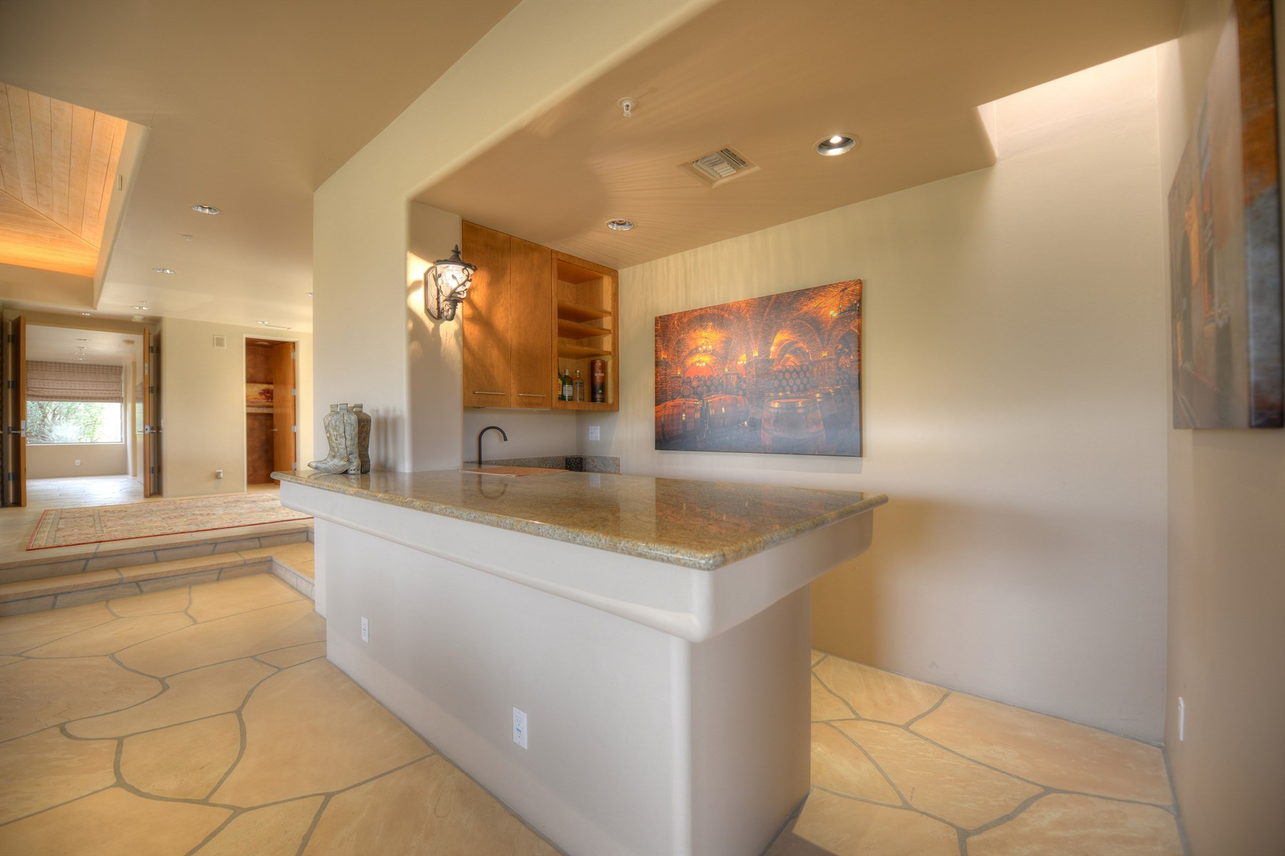 Property Of Fabulous Home Located On The 8th Hole Of The Apache Golf Course