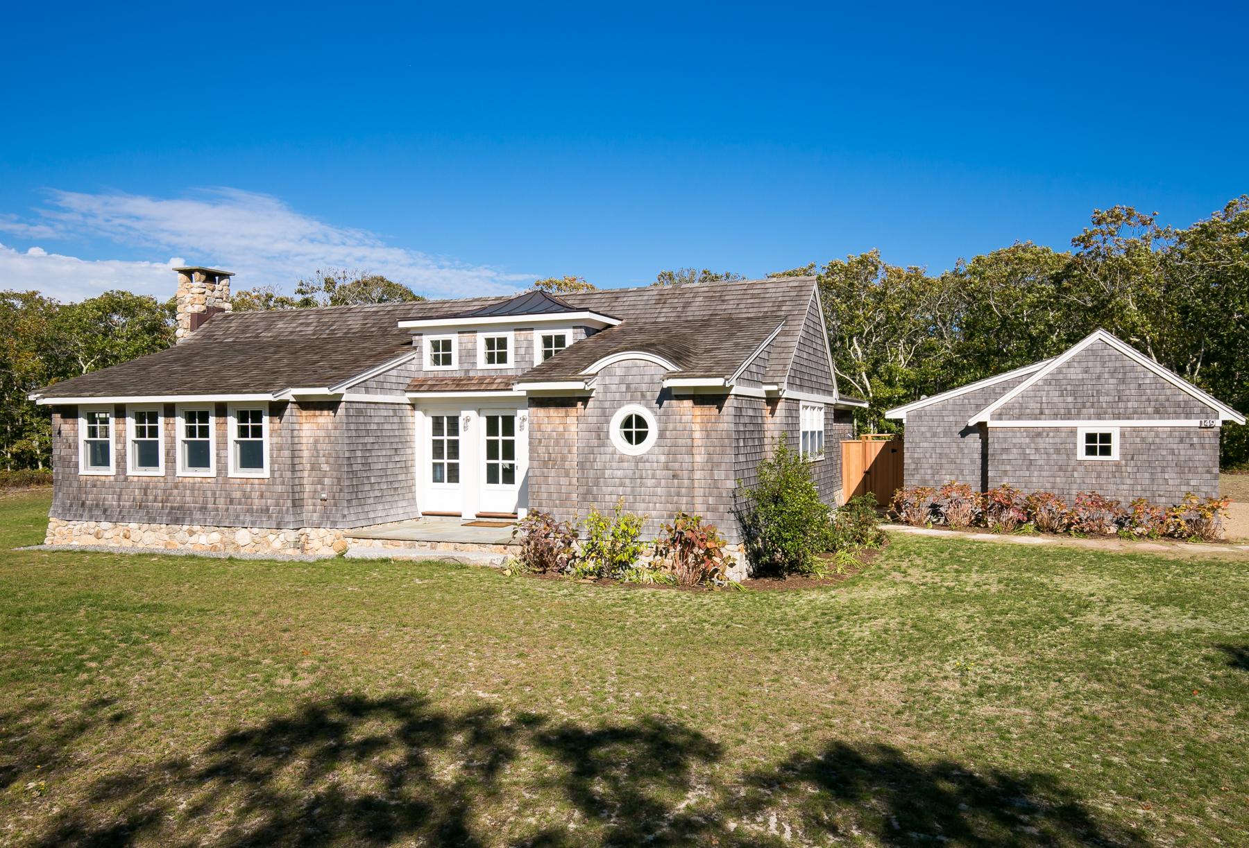 一戸建て のために 売買 アット Custom Home on Chappaquiddick 149 Litchfield Road Edgartown, マサチューセッツ 02539 アメリカ合衆国