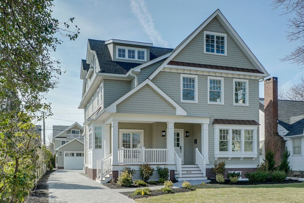 단독 가정 주택 용 매매 에 New Construction in Sea Girt! 504 Brooklyn Boulevard Sea Girt, 뉴저지, 08750 미국