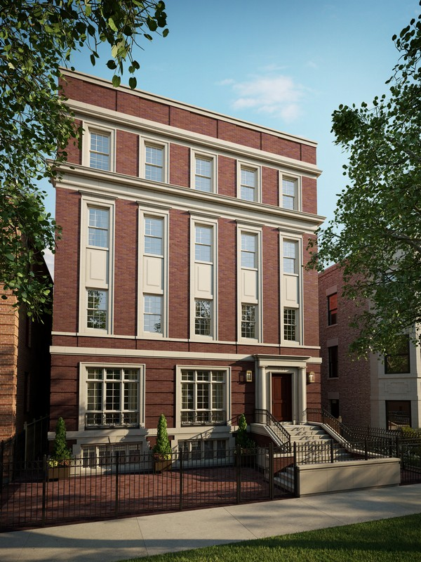 Maison unifamiliale pour l Vente à Masterpiece Home! 731 W Melrose Street Unit 2 Chicago, Illinois 60657 États-Unis