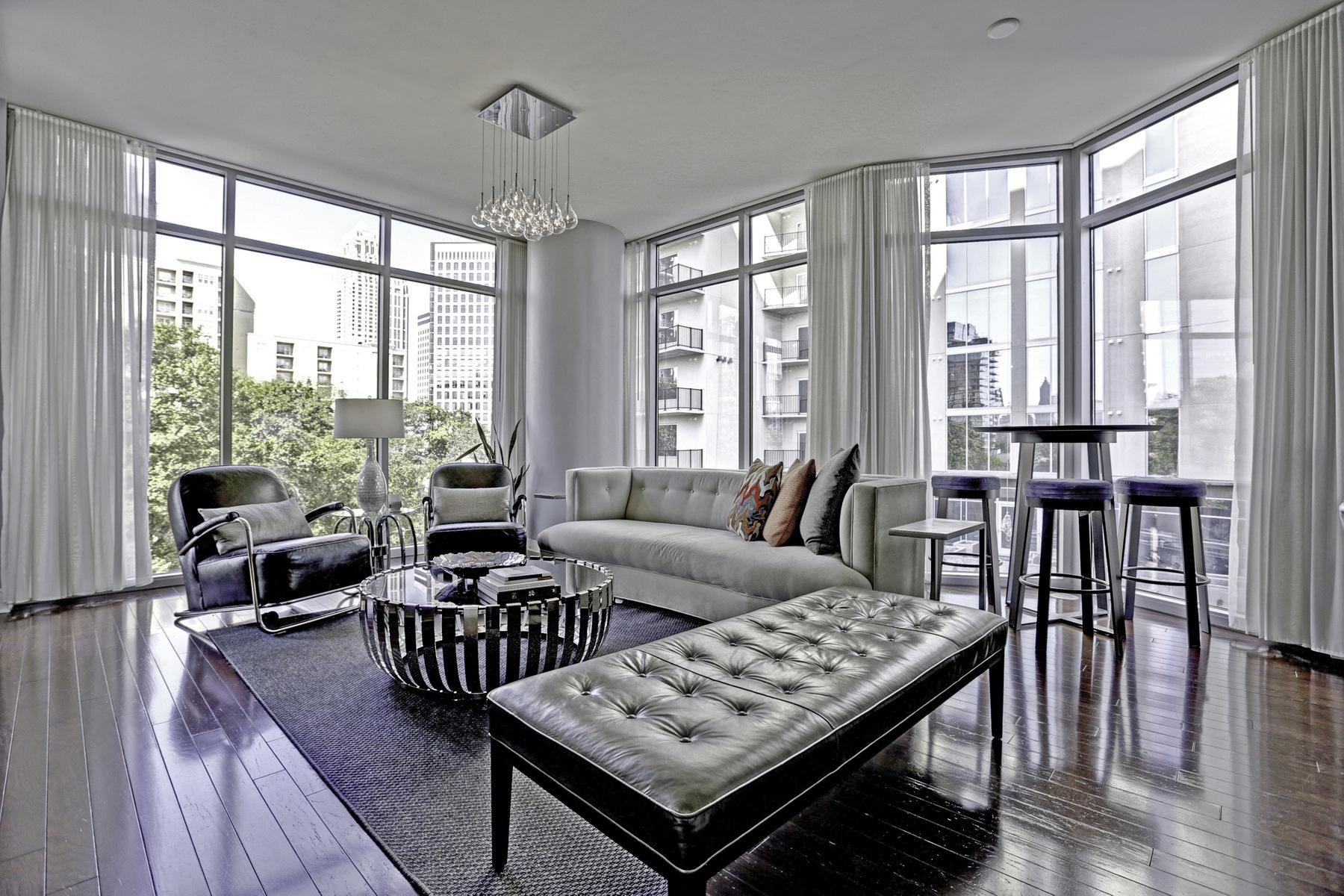 コンドミニアム のために 売買 アット Stunning Midtown Condo 222 12th Street NE Unit #902 Atlanta, ジョージア, 30309 アメリカ合衆国