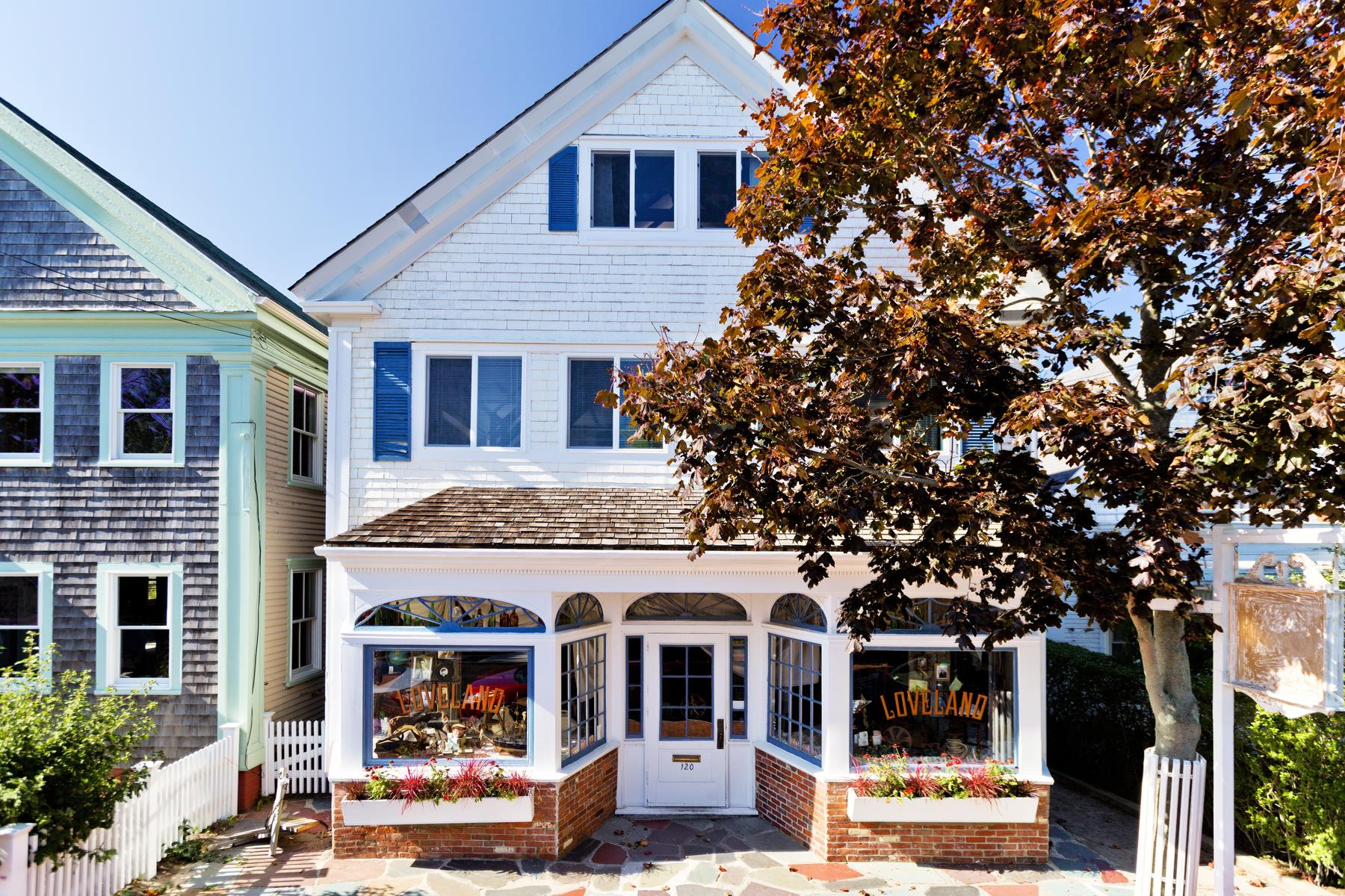 Single Family Home for Sale at Stately West End Home 120 Commercial Street Provincetown, Massachusetts 02657 United States