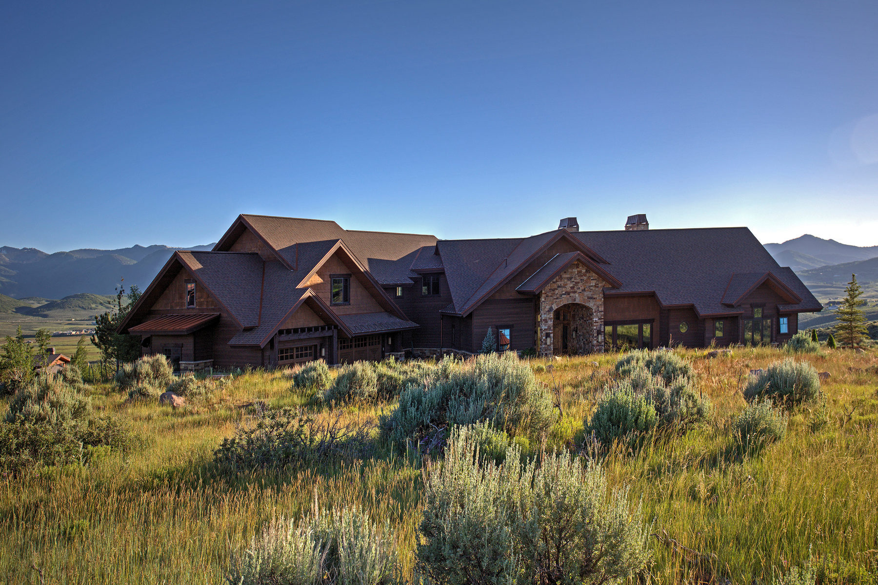 sales property at Impeccable Living in Promontory with Expansive Ski Mountain Views