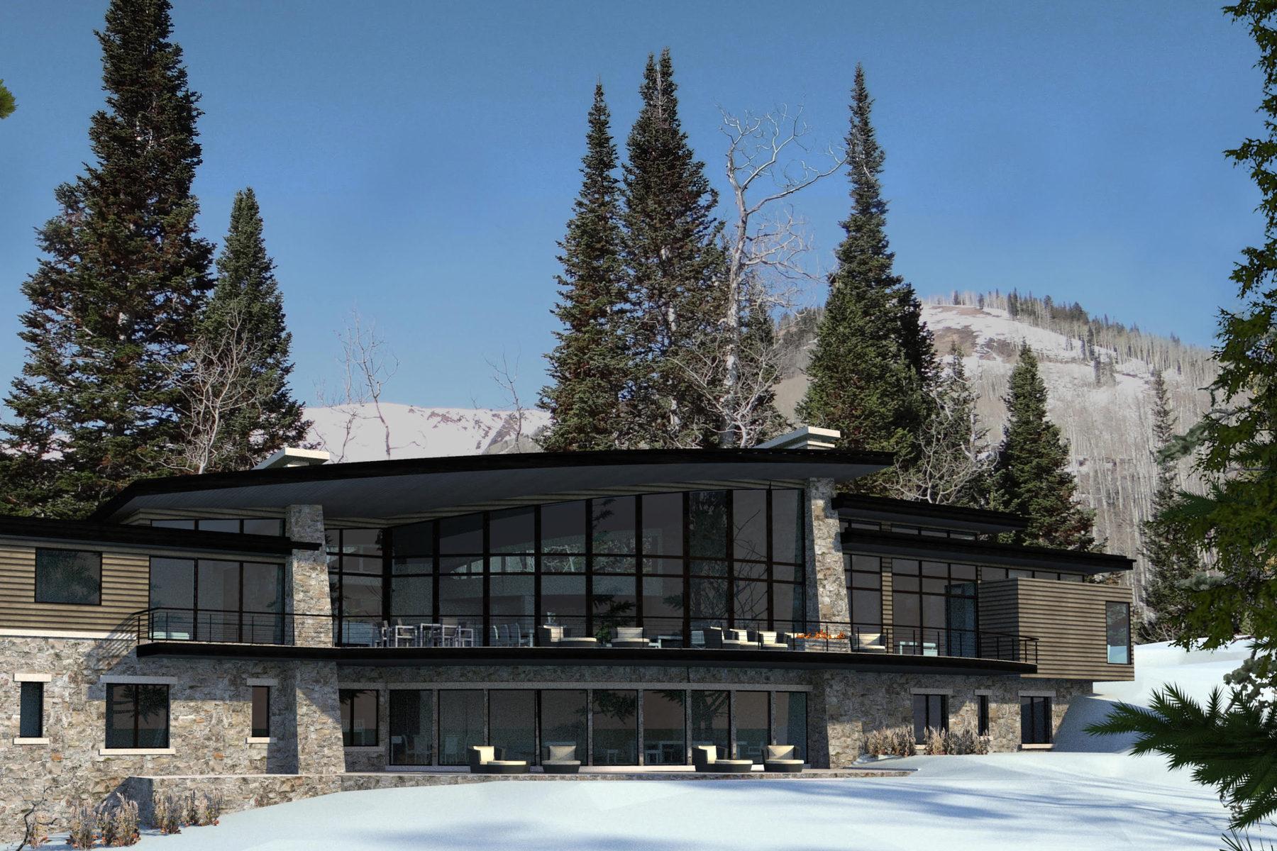 Terrain pour l Vente à Architectural Plans Included that Will Capture the Views 207 White Pine Canyon Rd Park City, Utah 84060 États-Unis