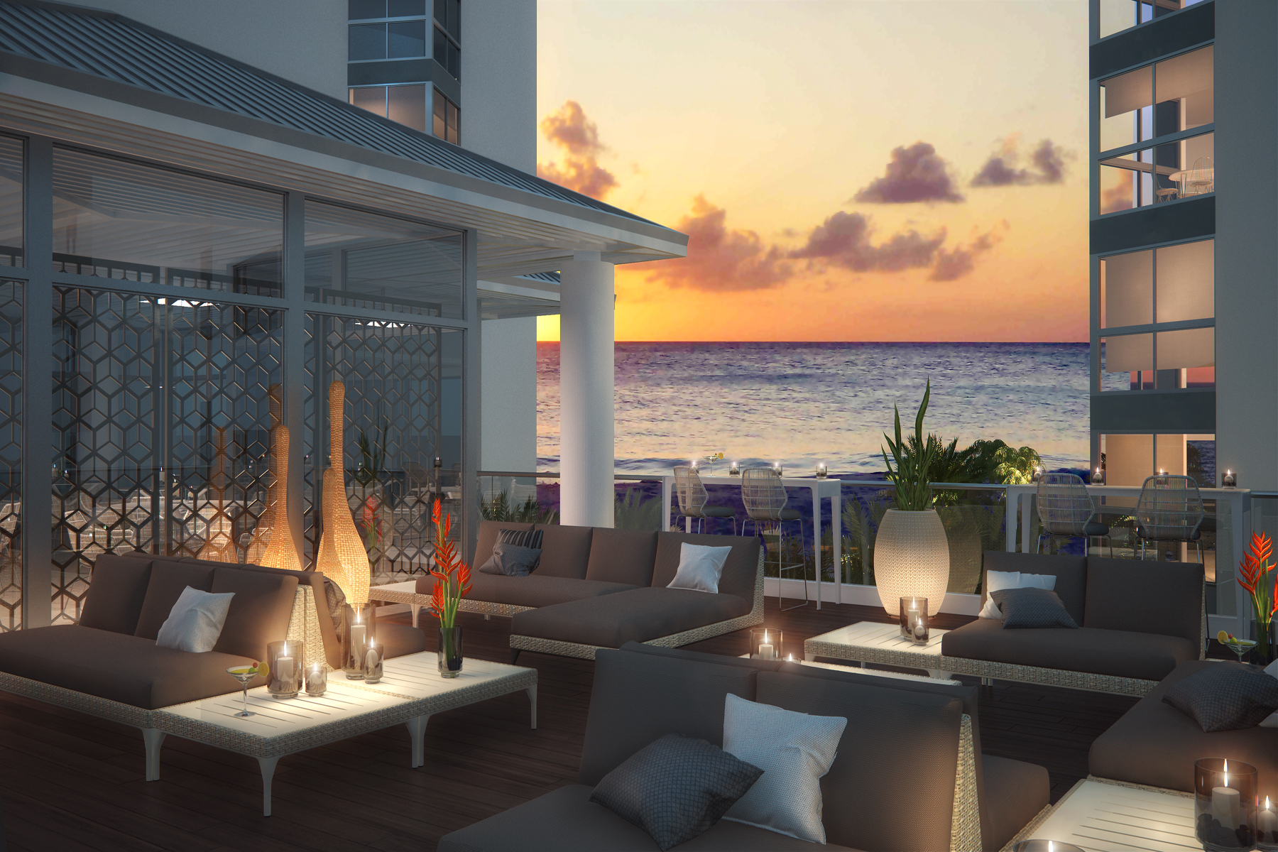 Apartment for Sale at Azure Residences 2 bedroom Eagle Beach, Aruba