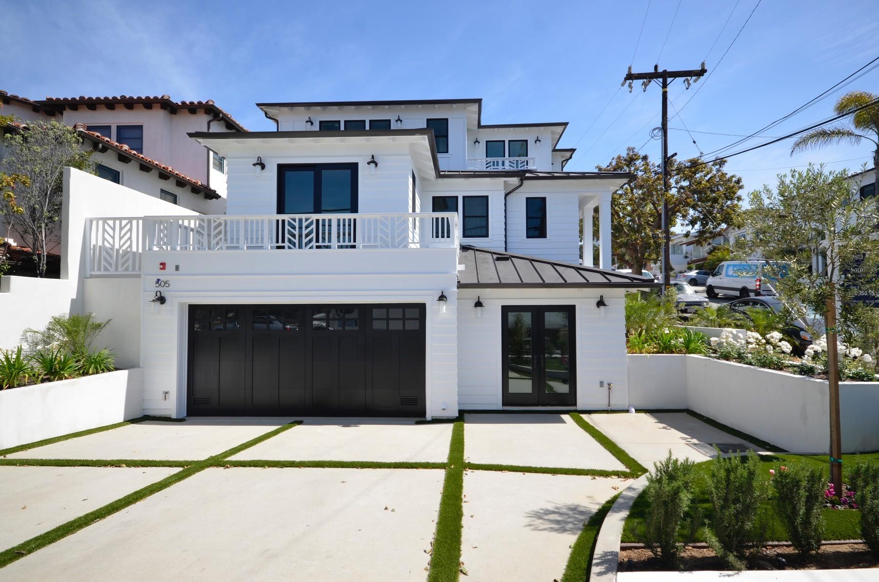Частный односемейный дом для того Продажа на 505 14th St Manhattan Beach, Калифорния, 90266 Соединенные Штаты