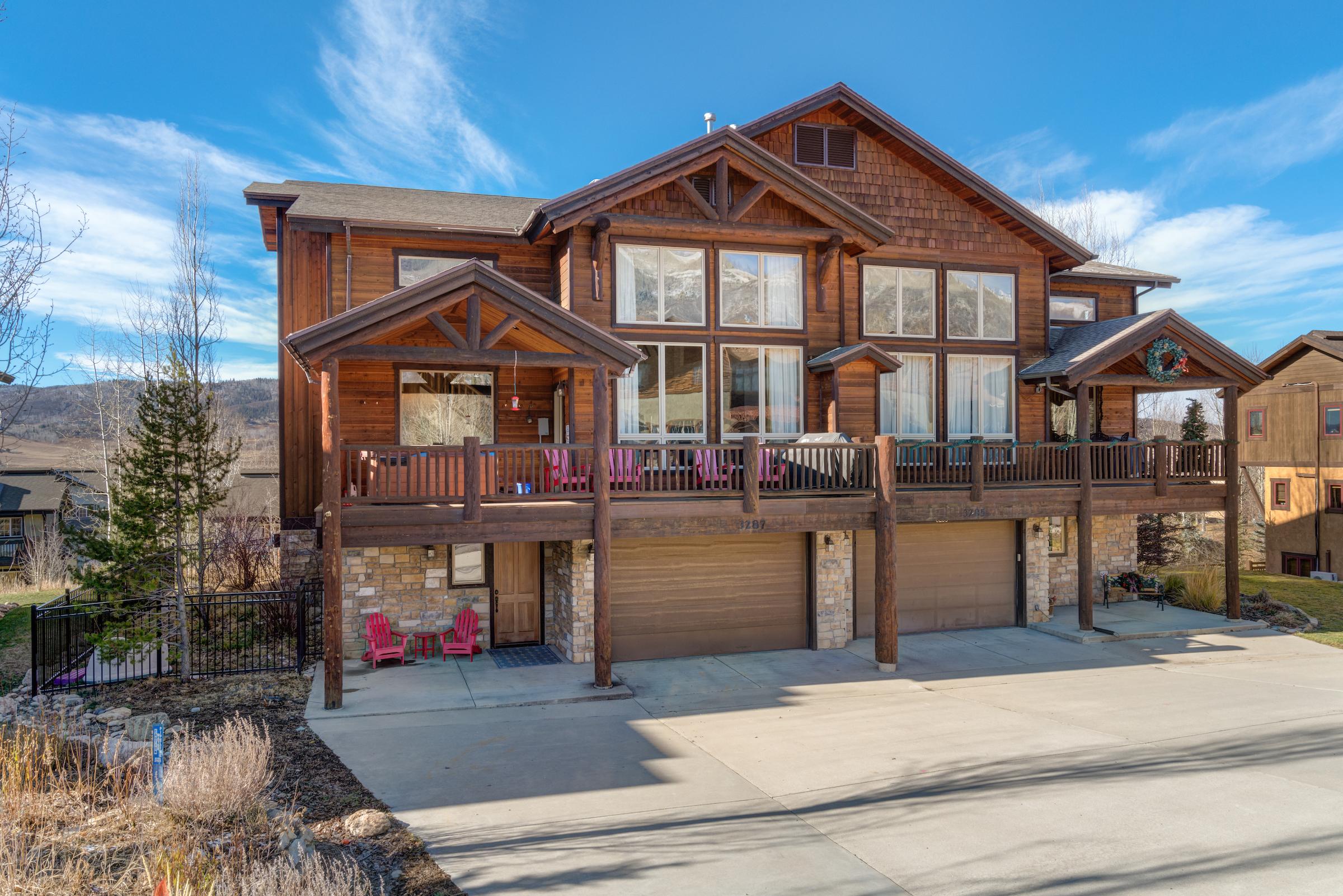 Doppelhaus für Verkauf beim Mesmerizing Ski Area Views 3287 Snowflake Circle #2 Steamboat Springs, Colorado, 80487 Vereinigte Staaten