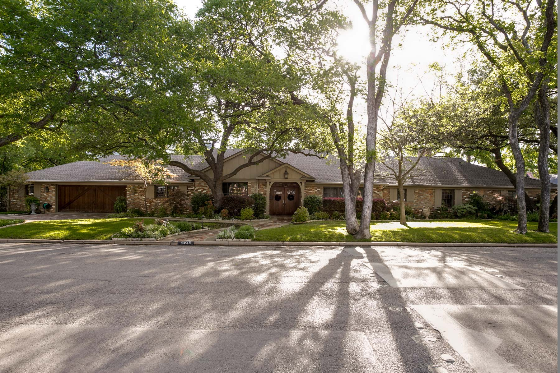 sales property at Stately Traditional Home Near TCU
