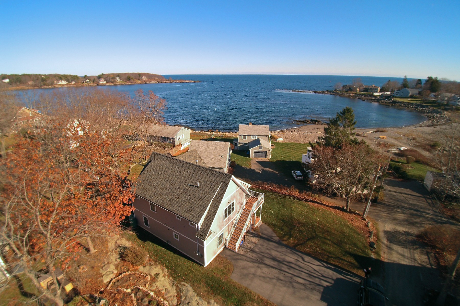 Property For Sale at Cape Neddick Ocean View Home