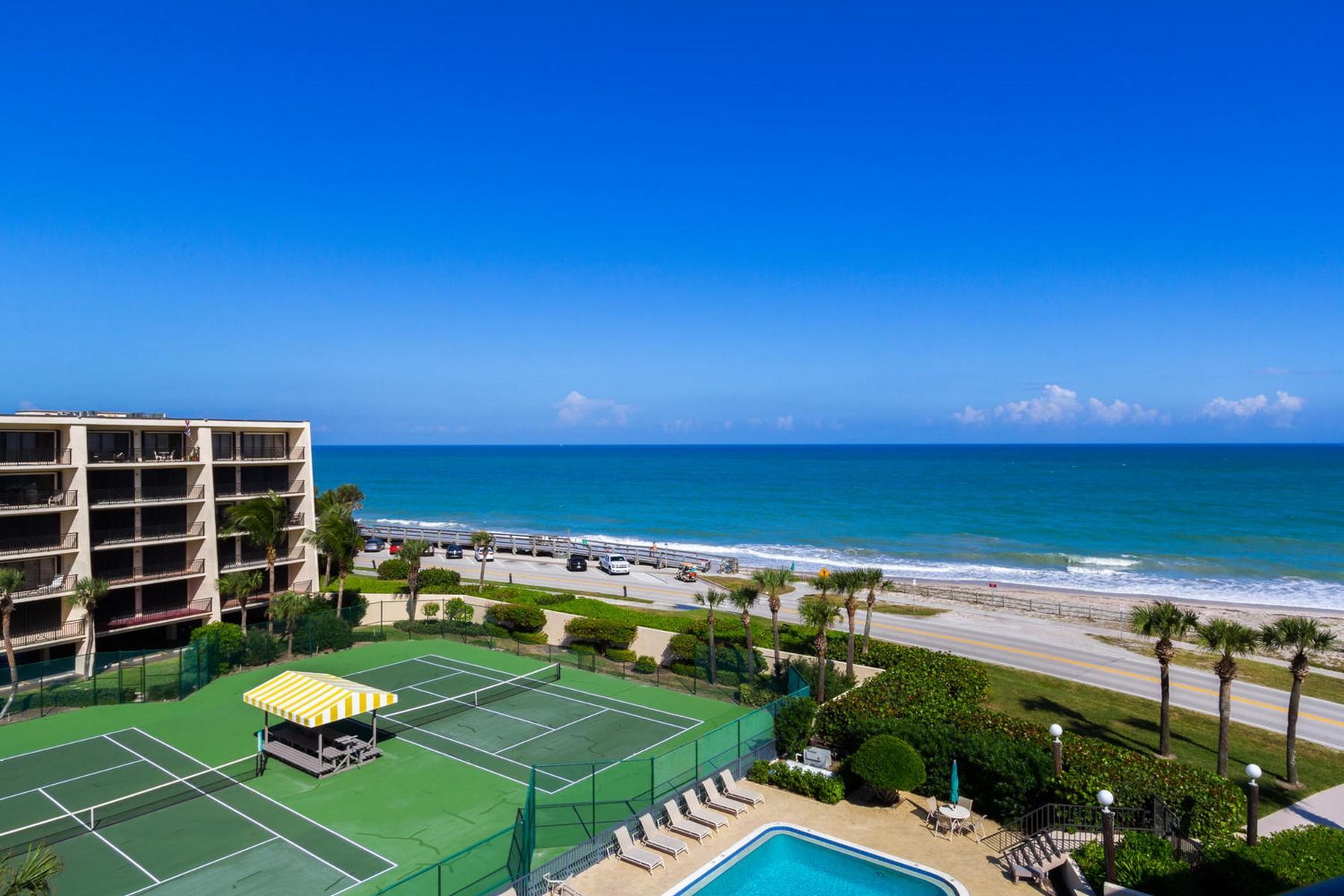 sales property at Racquet Club Oceanfront Penthouse