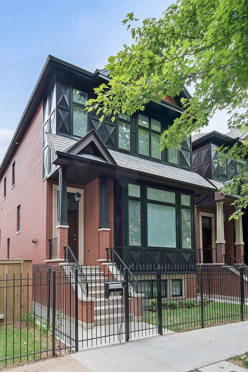 Single Family Home for Sale at Show Stopping All Brick Home 1905 W Fletcher Street North Center, Chicago, Illinois, 60657 United States
