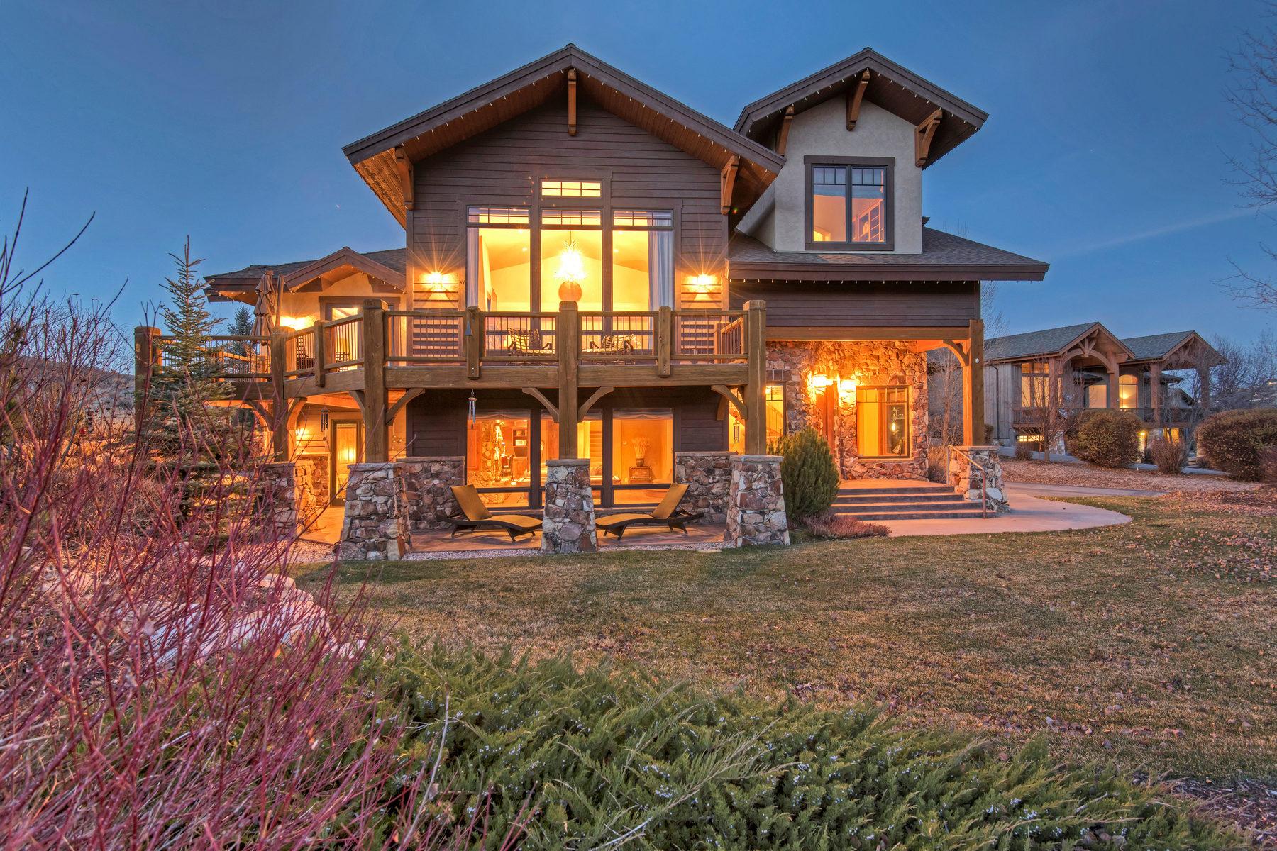Частный односемейный дом для того Продажа на Ski Run Views from Deer Valley to Canyons 6140 Trailside Dr Park City, Юта, 84098 Соединенные Штаты