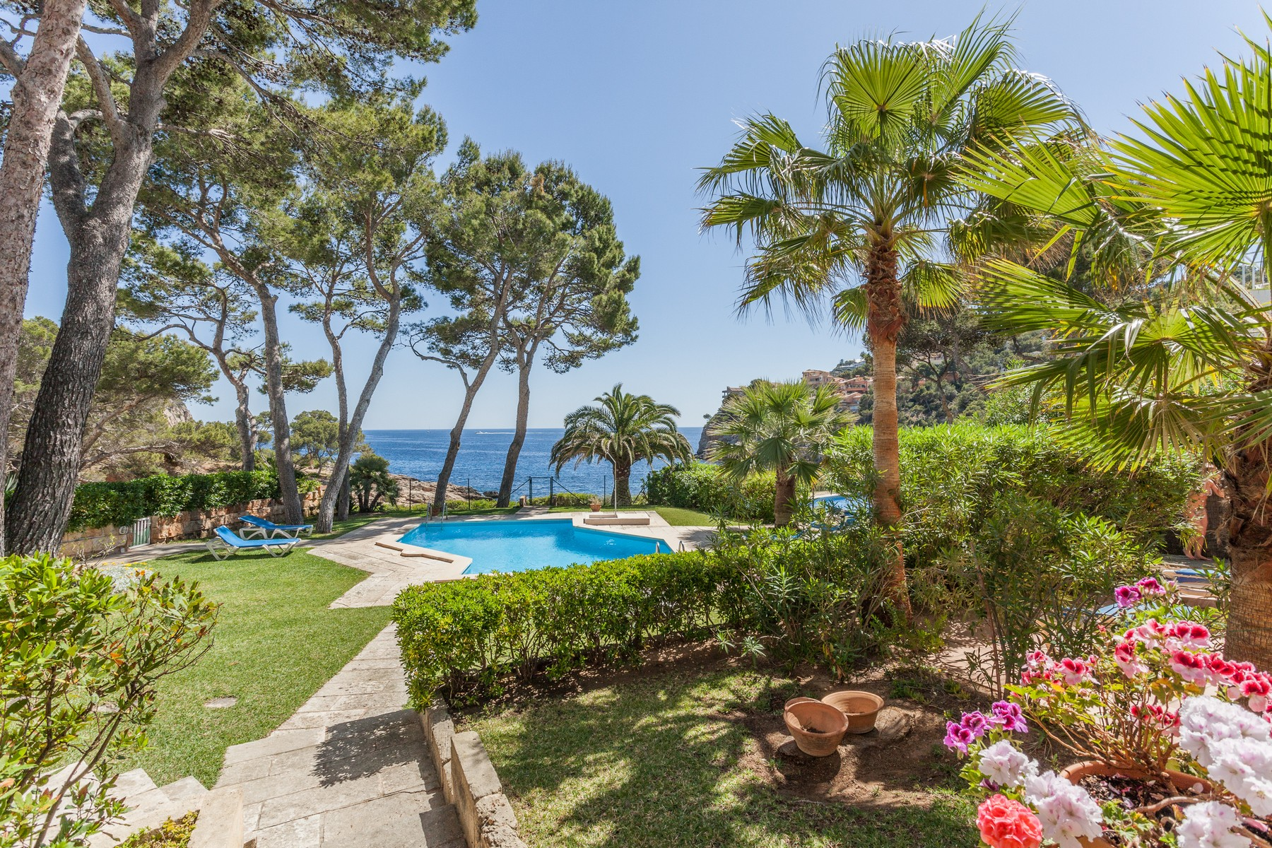 Wohnung für Verkauf beim Apartment with sea access near the port of Andratx Port Andratx, Mallorca 07157 Spanien