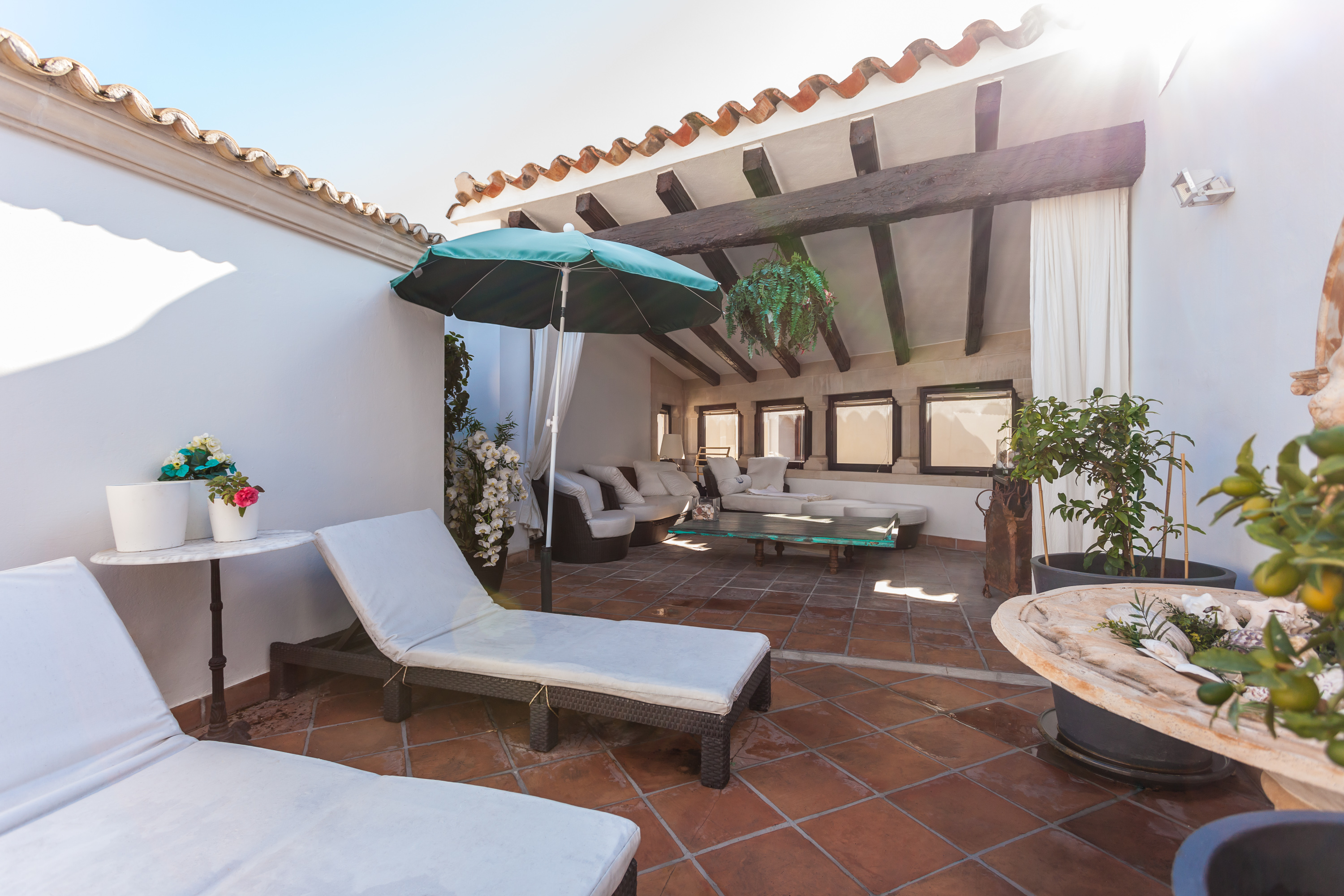 Single Family Home for Sale at Spacious penthouse with terraces Palma Center, Mallorca, 07012 Spain