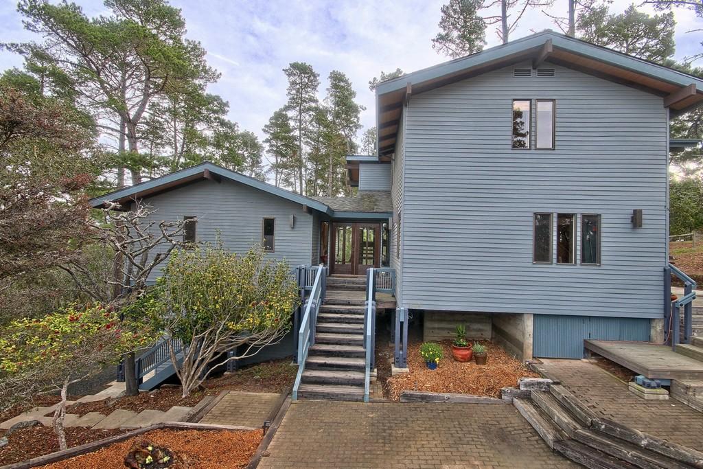 Casa para uma família para Venda às Big Sur - Mid Century Modern Design 1596 Cardiff Cambria, Califórnia, 93428 Estados Unidos