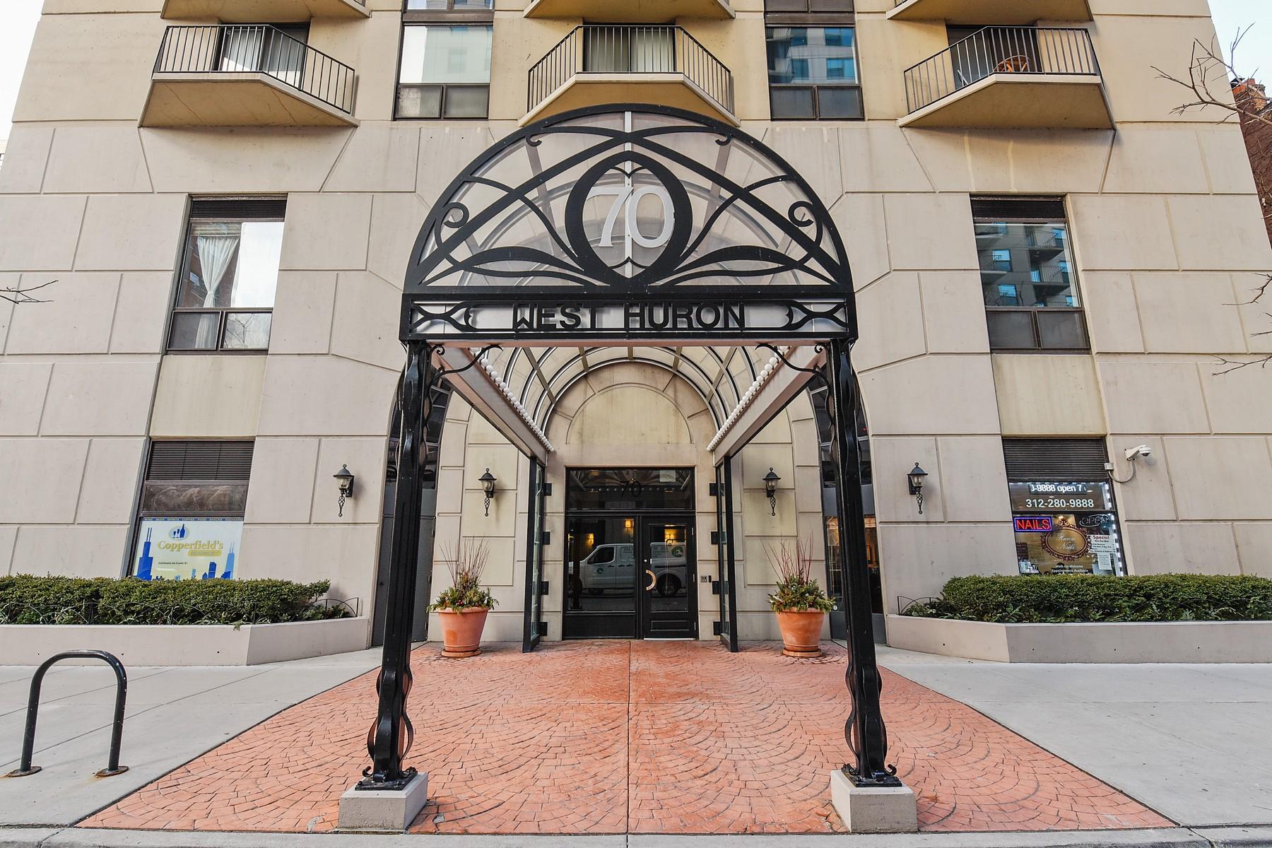 Appartement en copropriété pour l Vente à Welcome to The Hermitage! 70 W Huron Street Unit 1204 Near North Side, Chicago, Illinois, 60654 États-Unis