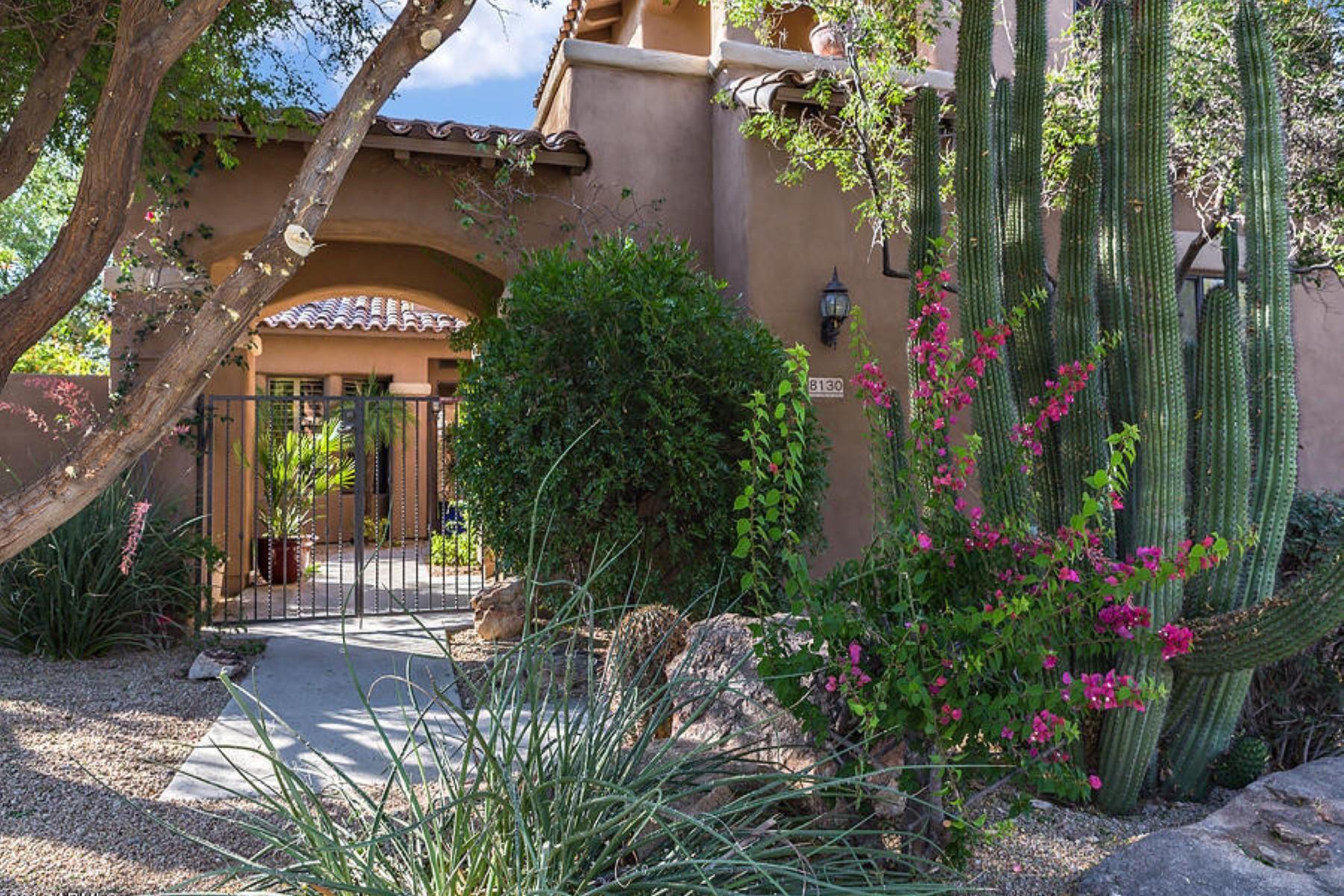 Einfamilienhaus für Verkauf beim Gorgeous and tranquil Santa Barbara-style property 8130 E Wing Shadow Rd Scottsdale, Arizona, 85255 Vereinigte Staaten
