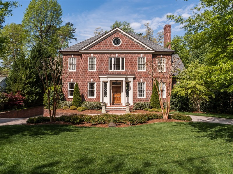 Single Family Home for Sale at Budleigh Estate 1807 Chester Road Raleigh, North Carolina 27608 United States