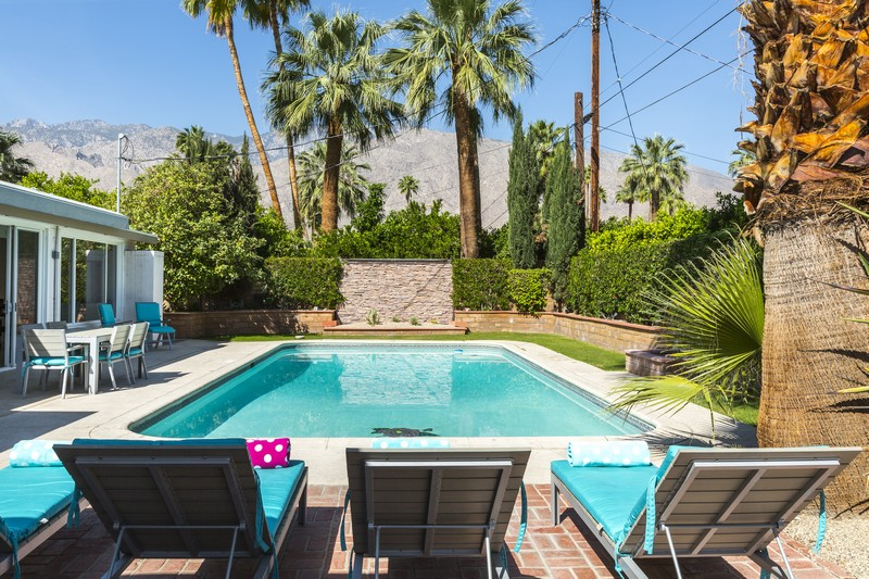 獨棟家庭住宅 為 出售 在 1456 E San Lorenzo Rd Palm Springs, 加利福尼亞州 92264 美國
