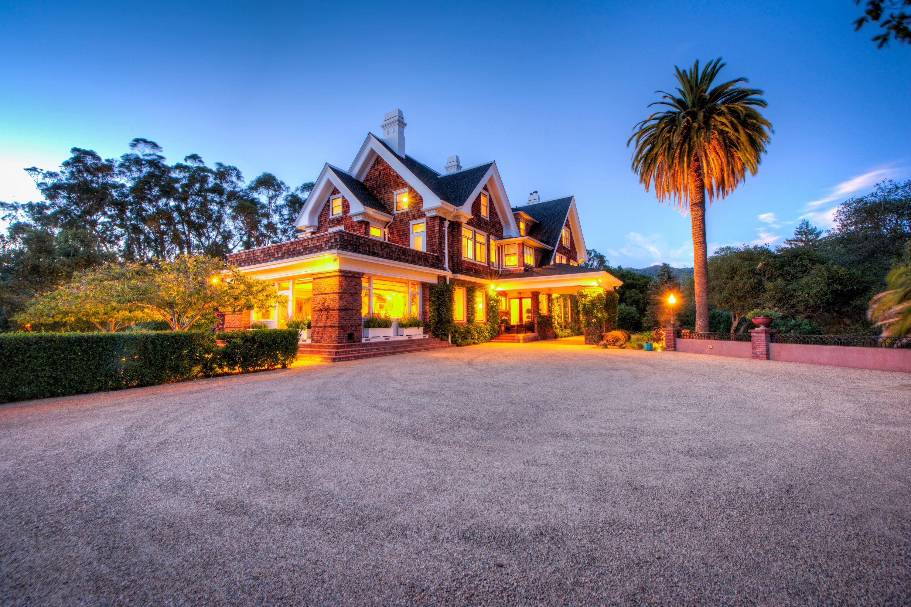 Single Family Home for Sale at Magnificent Gated Estate 201 Linden Lane San Rafael, California 94901 United States