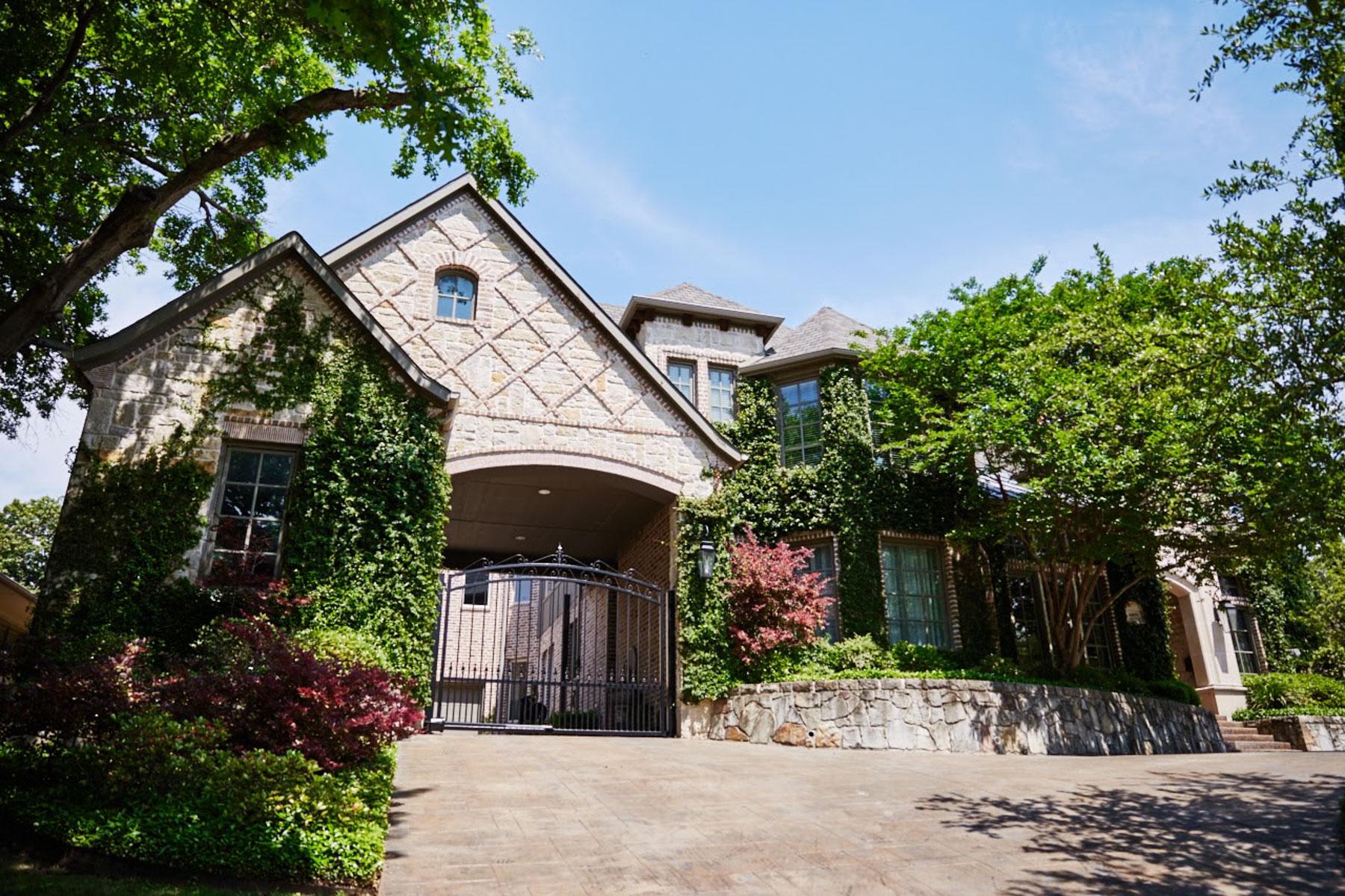 단독 가정 주택 용 매매 에 Lakewood's Finest 6855 Lakewood Boulevard Dallas, 텍사스, 75214 미국