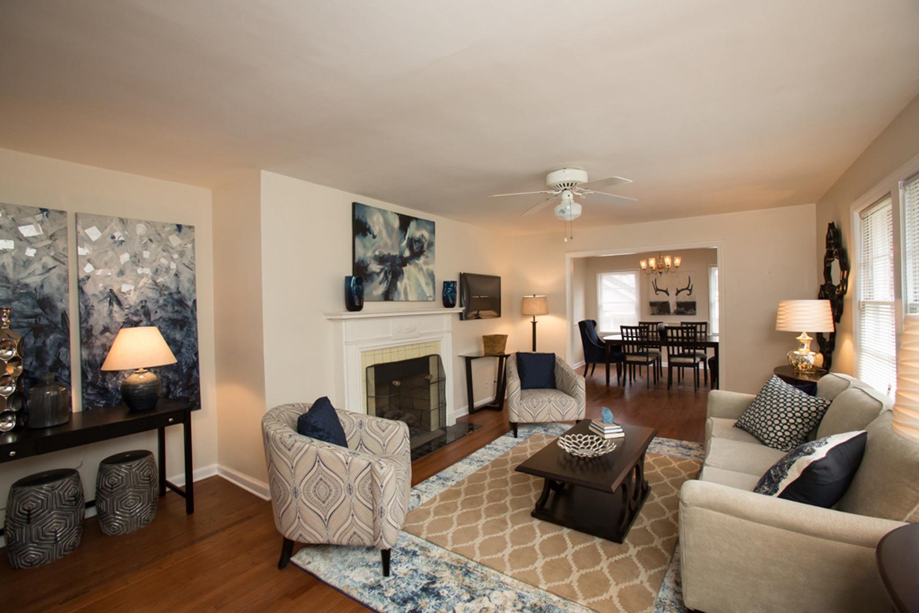 단독 가정 주택 용 매매 에 Renovated And Shows Beautifully 1193 Clifton Road Druid Hills, Atlanta, 조지아, 30307 미국