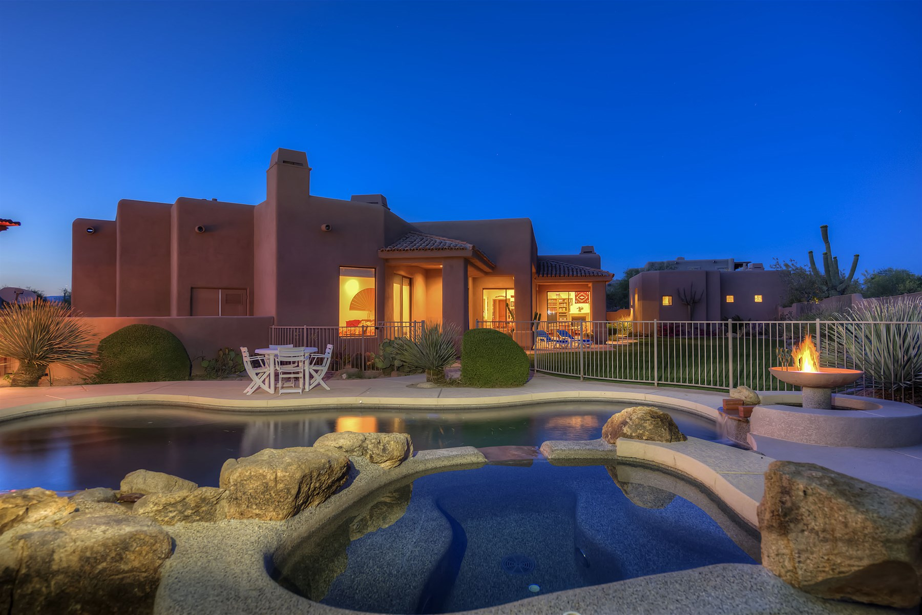 open-houses property at Remarkable Desert Compound In Guard Gated Sincuidados