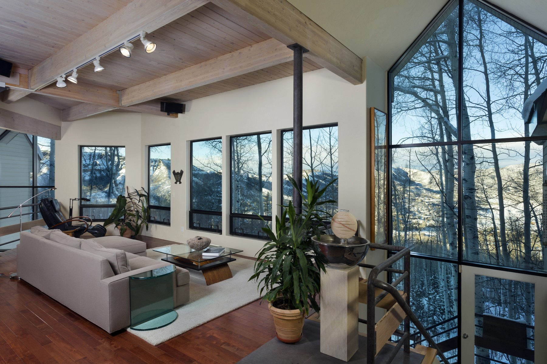 Single Family Home for Sale at Soft Contemporary with Sweeping Views 71 View Ridge Lane Snowmass Village, Colorado 81615 United States