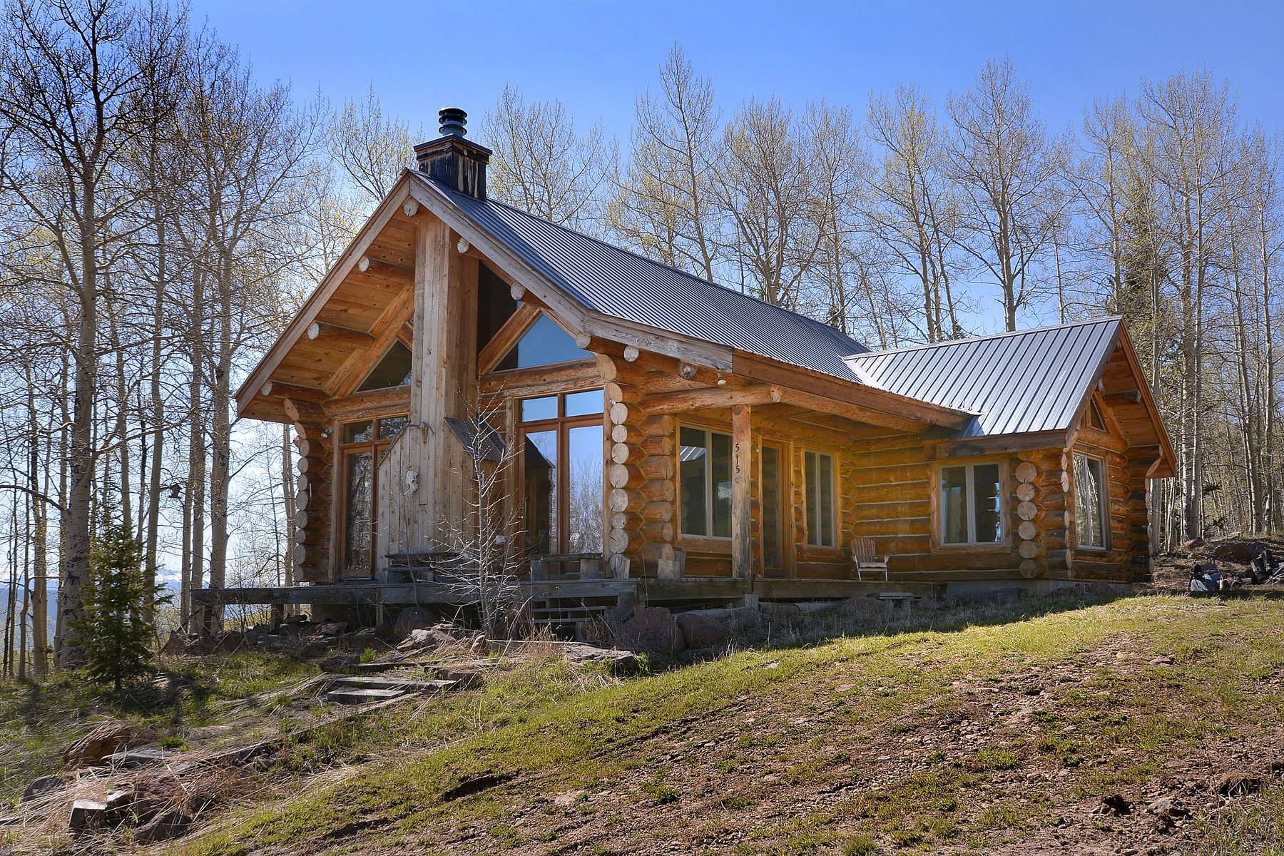 Single Family Home for Sale at Base of Red Mountain 515 Oversteeg Gulch Road Crested Butte, Colorado, 81224 United States