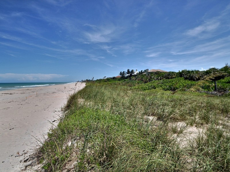 토지 용 매매 에 Grand oceanfront lot in prestigious Vero Beach 11900 Seaview Drive Vero Beach, 플로리다 32963 미국