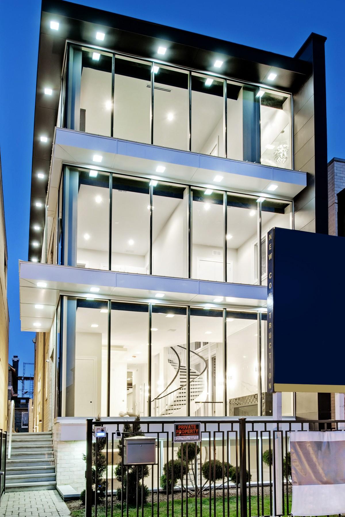 Частный односемейный дом для того Продажа на Better Than New Construction! 1250 W Schubert Avenue Lincoln Park, Chicago, Иллинойс 60614 Соединенные Штаты