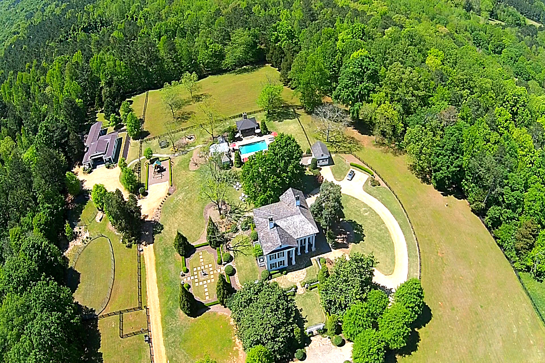 Property For Sale at Historic 16.73 Acre Equestrian Estate