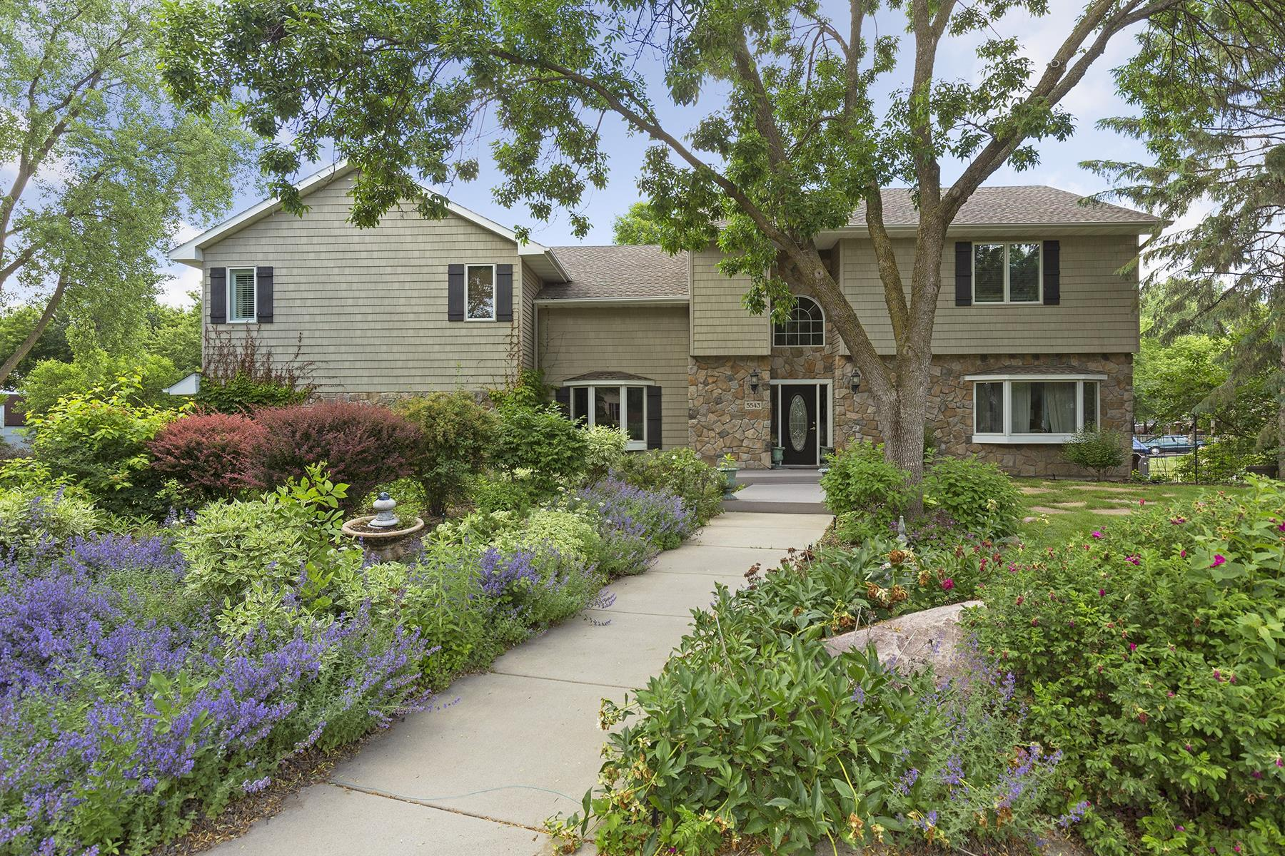 Single Family Home for Sale at 5543 Malibu Drive Edina, Minnesota 55436 United States