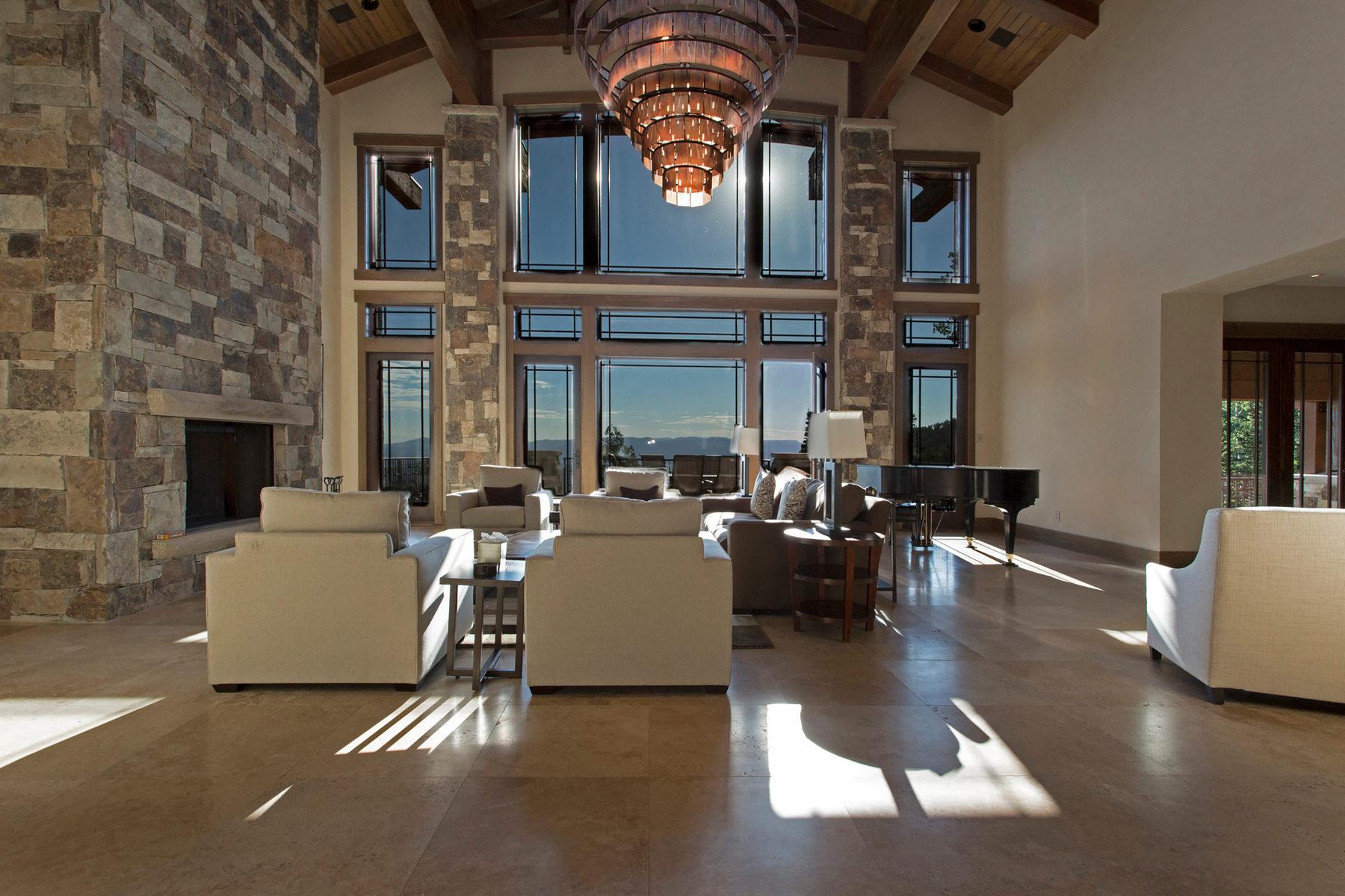 Частный односемейный дом для того Продажа на Untracked Powder at the Top of the World 63 Red Cloud Trl Park City, Юта 84060 Соединенные Штаты