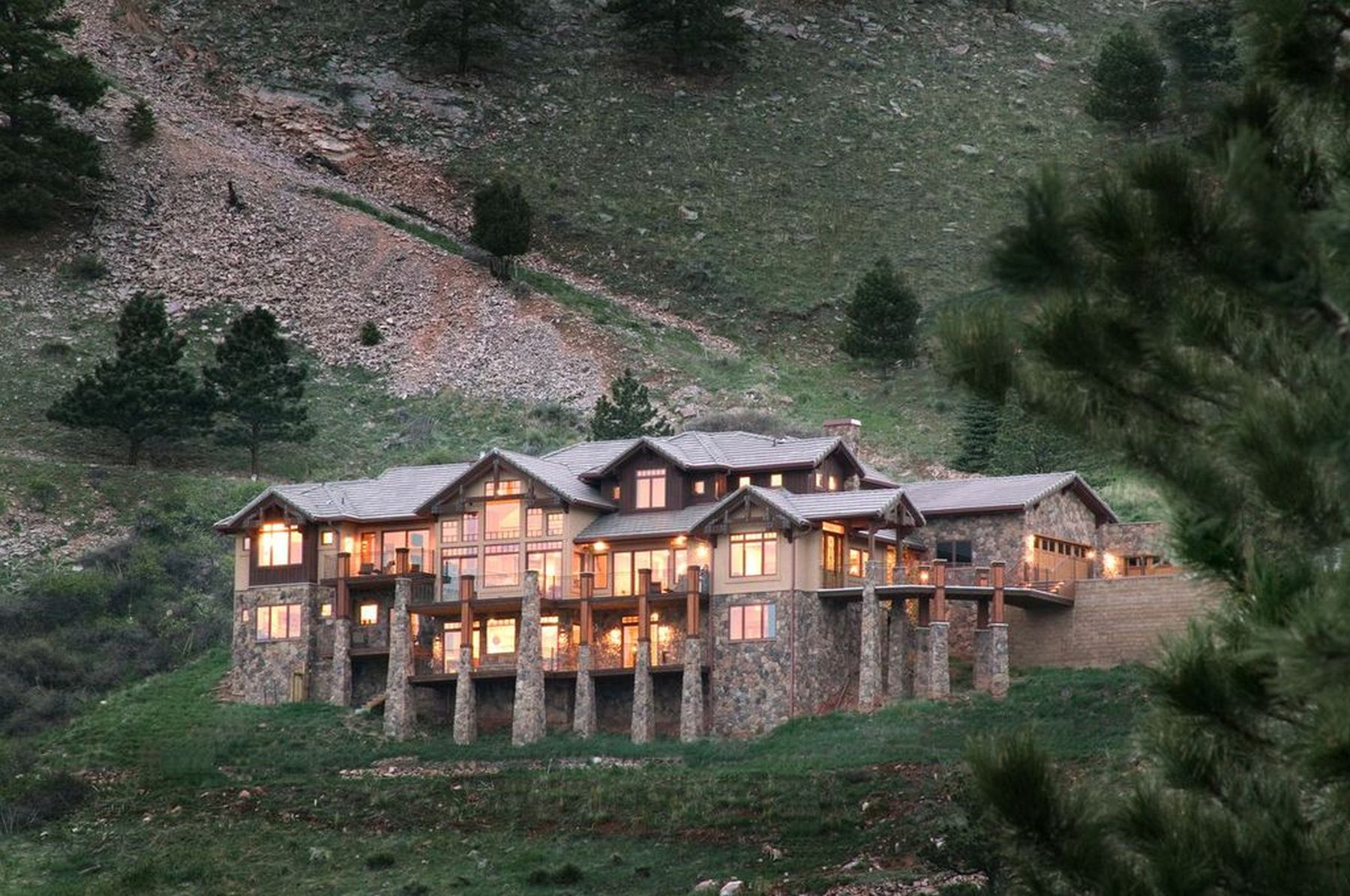 Property For Sale at Stunning Contemporary Mountain Home