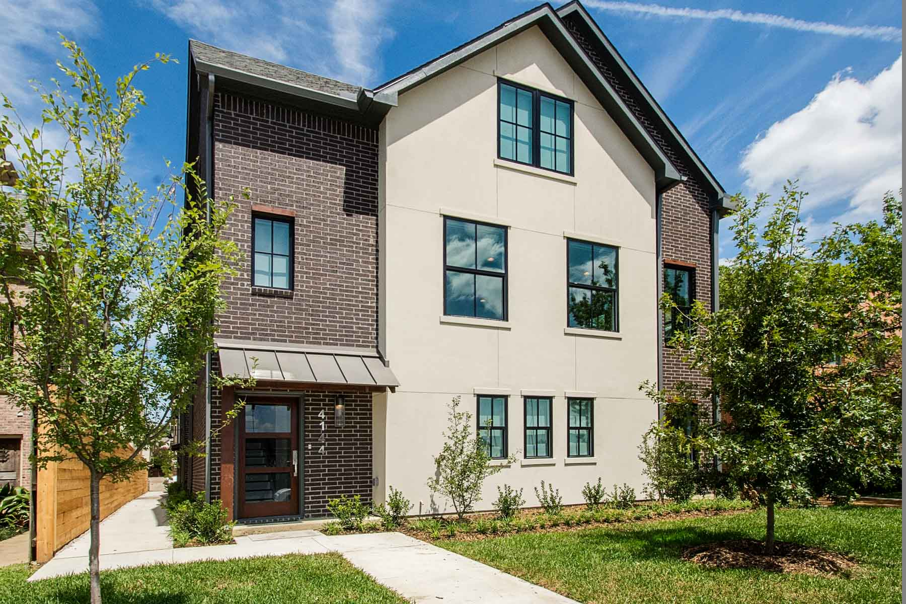 Stadthaus für Verkauf beim Contemporary University Park Townhomes 4144 Druid Lane #1 Dallas, Texas, 75205 Vereinigte Staaten