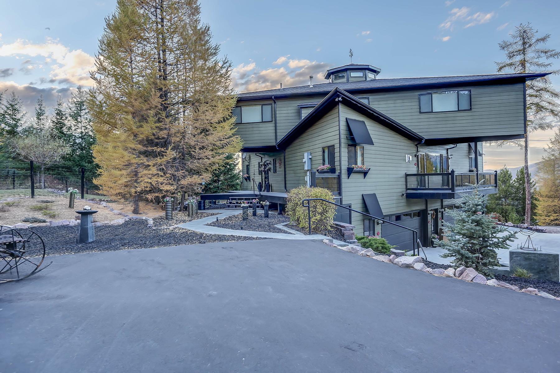 Casa para uma família para Venda às 2905 Larch Camp Road Missoula, Montana 59803 Estados Unidos