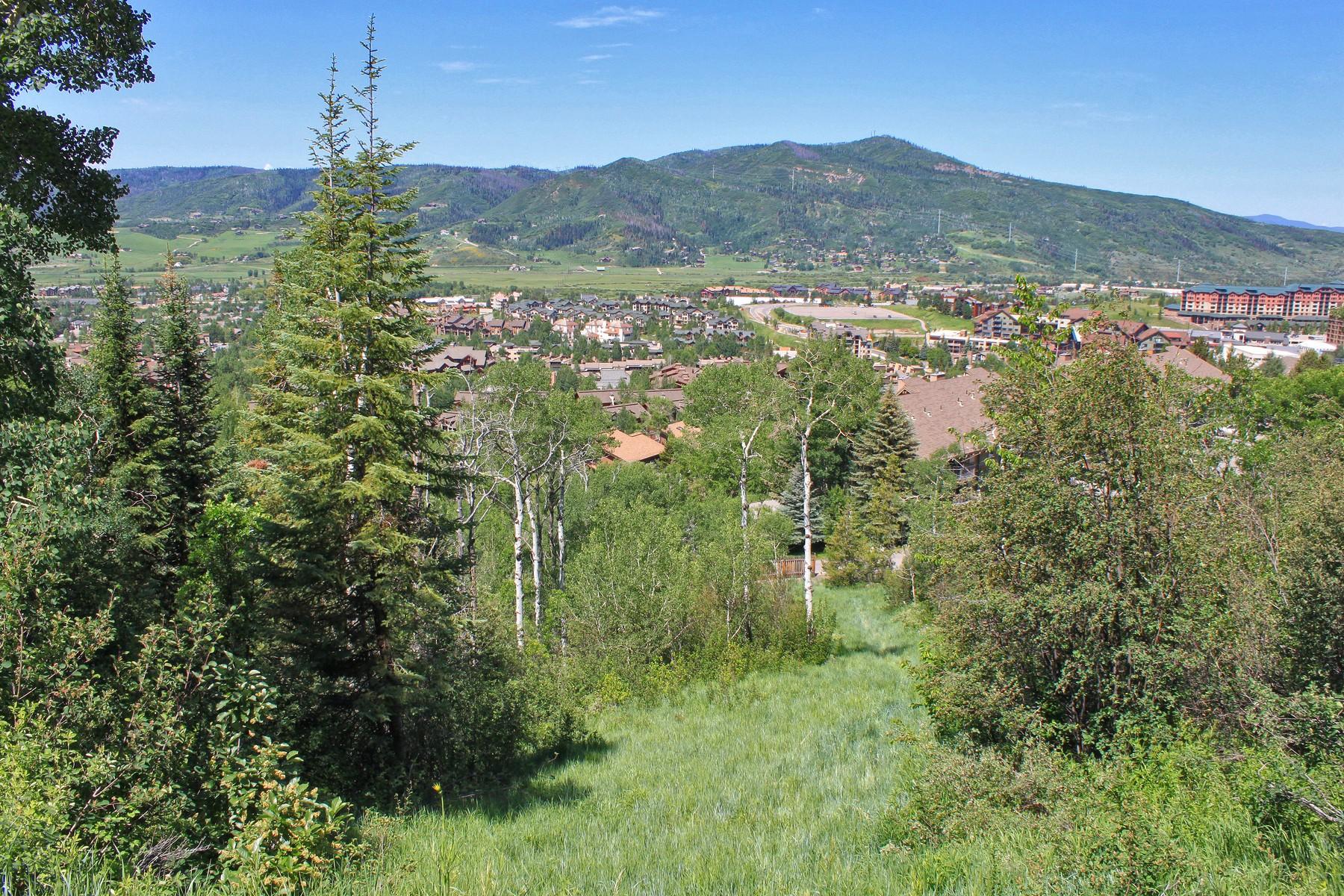 Terrain pour l Vente à Ski Trail Lane Duplex Lot 2725 Ski Trail Lane Steamboat Springs, Colorado, 80487 États-Unis