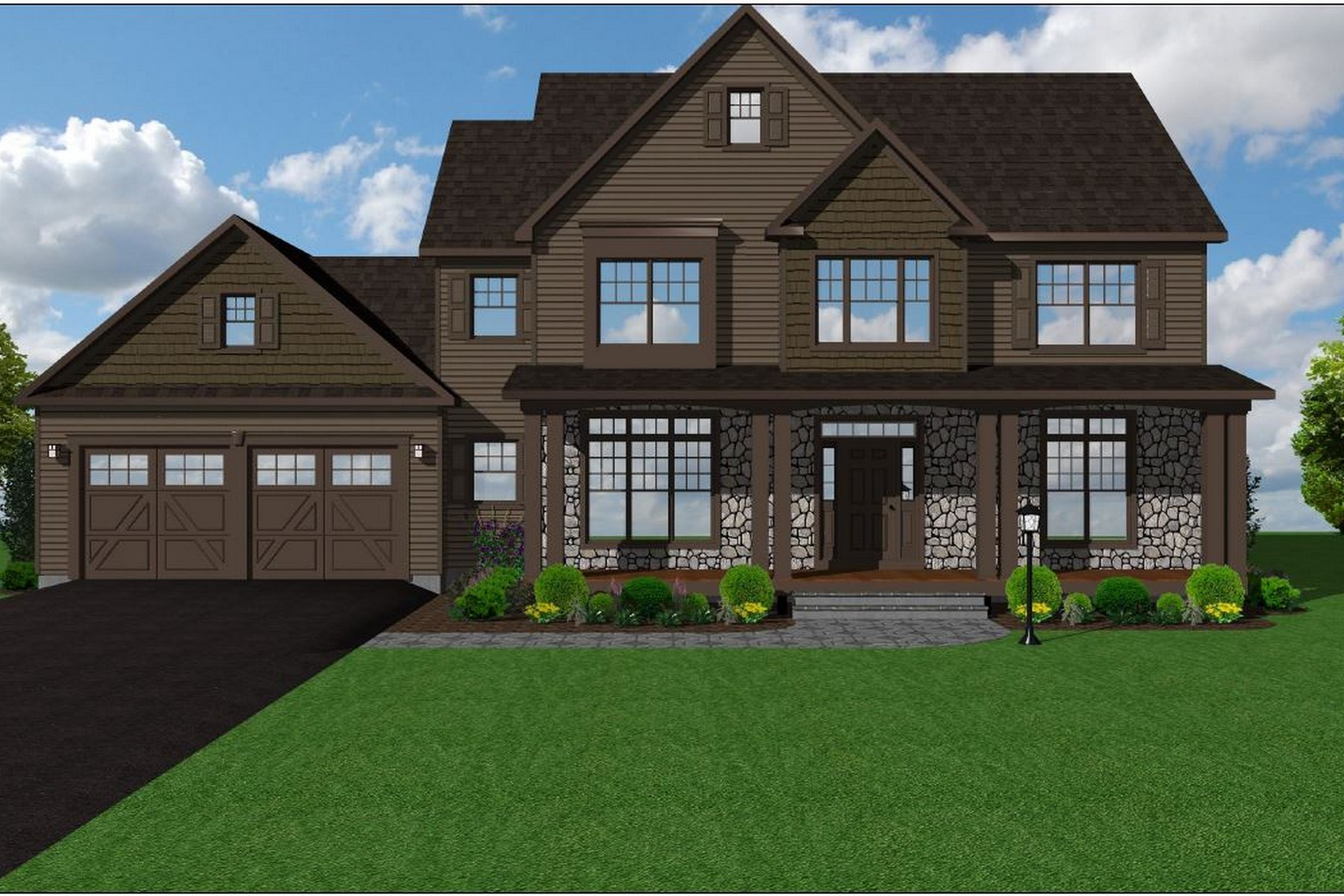 Villa per Vendita alle ore Preservation Acres New Construction Dover Model Lot 8 Preservation Lane Westborough, Massachusetts, 01581 Stati Uniti