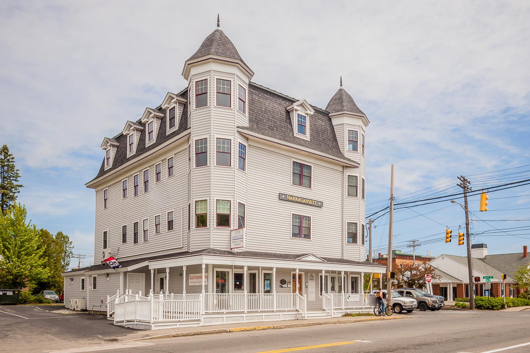 Commercial for Sale at The Narragansett House 33 Park Street Unit 201 Rockland, Maine 04841 United States