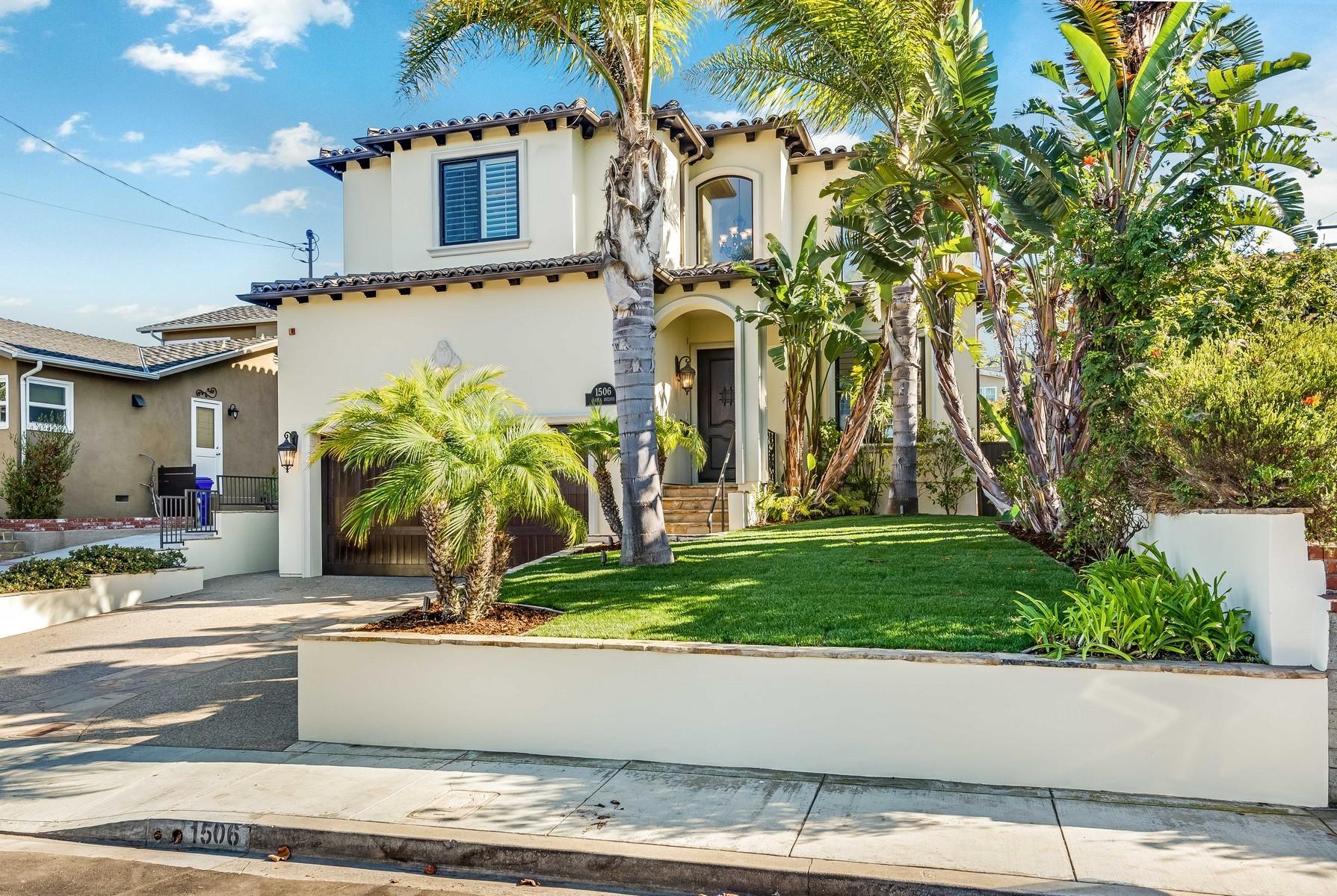 独户住宅 为 销售 在 1506 Gates Ave 曼哈顿海滩, 加利福尼亚州 90266 美国