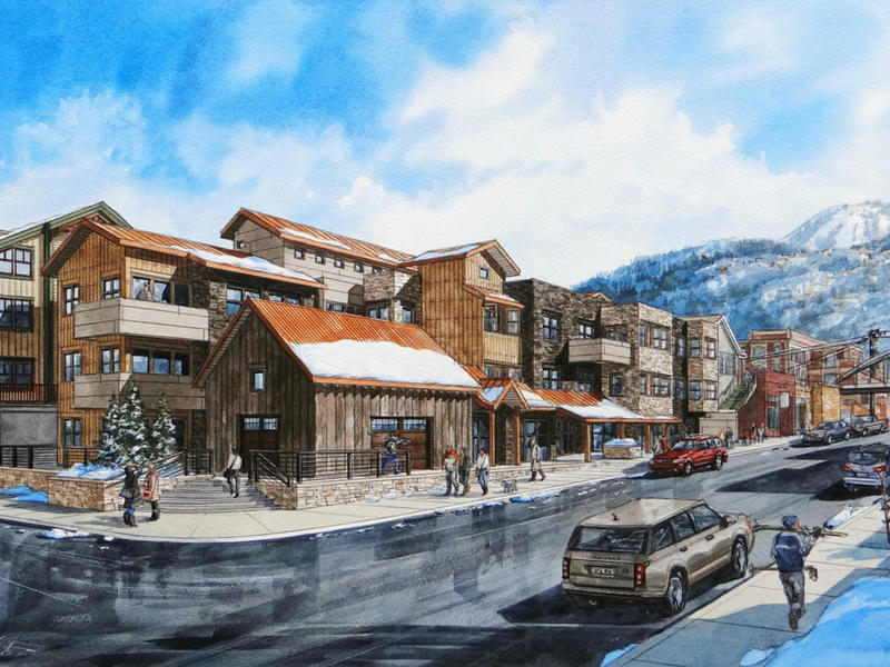 Copropriété pour l Vente à 820 PARK AVENUE CONDOMINIUMS, MOUNTAIN MODERN AT ITS FINEST 820 Park Avenue 4 Park City, Utah 84060 États-Unis