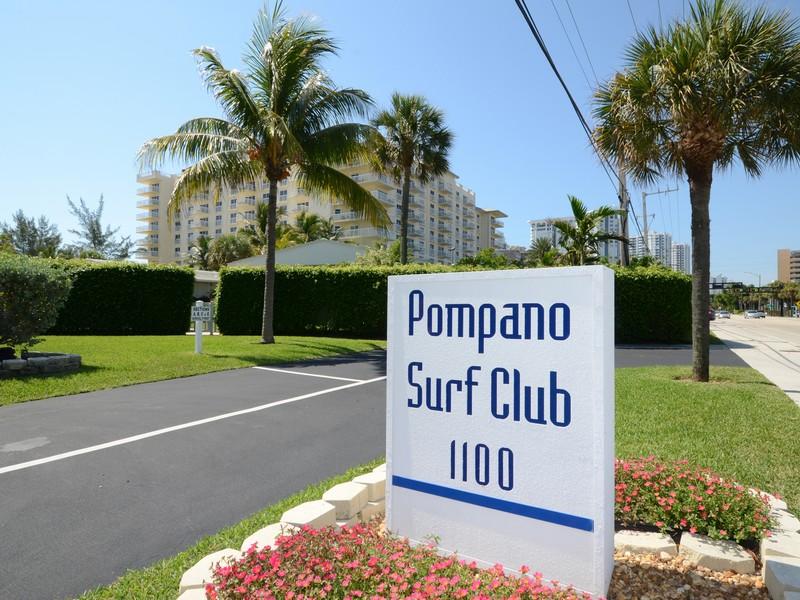 Cooperativa por un Venta en Pompano Surf Club 3320 SE 10th St #8B Pompano Beach, Florida 33062 Estados Unidos