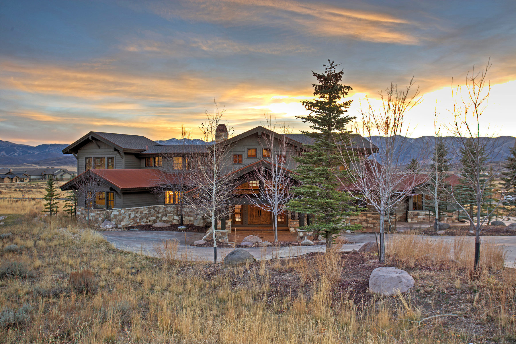 Single Family Home for Sale at Panoramic Ski Views in Promontory 2382 Palomino Trl Park City, Utah, 84098 United States
