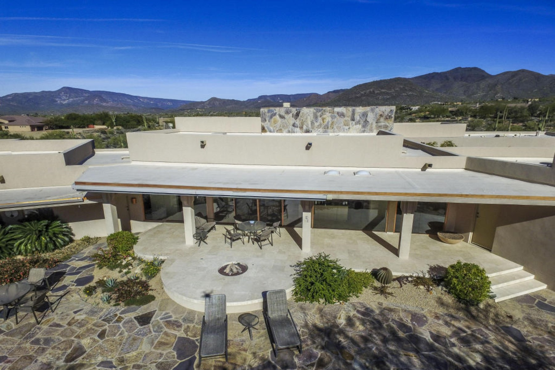 Property For Sale at A warm and inviting home set on a hillside with spectacular views