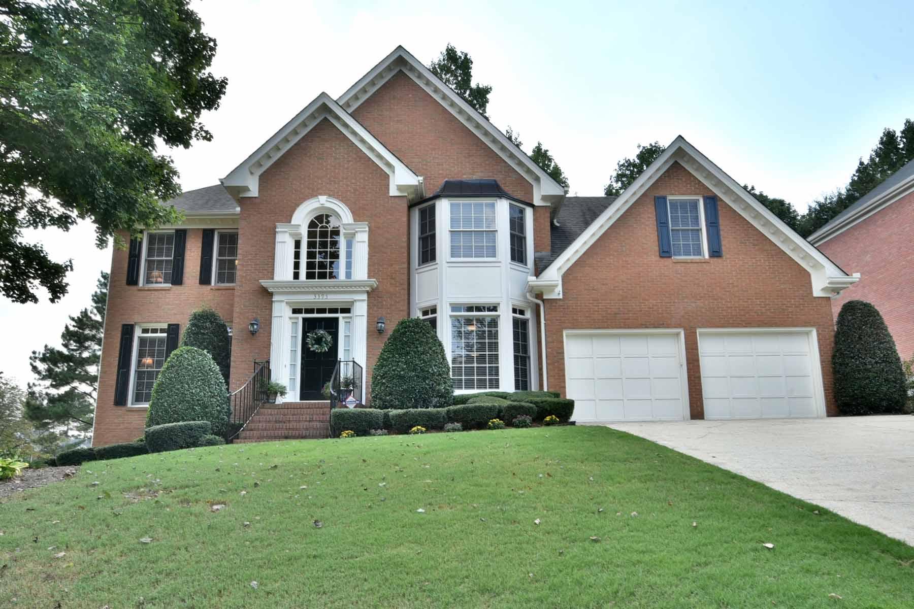 Nhà ở một gia đình vì Bán tại Beautiful Brick Home with Four Car Garage 3395 Marquess Moor Alpharetta, Georgia, 30022 Hoa Kỳ