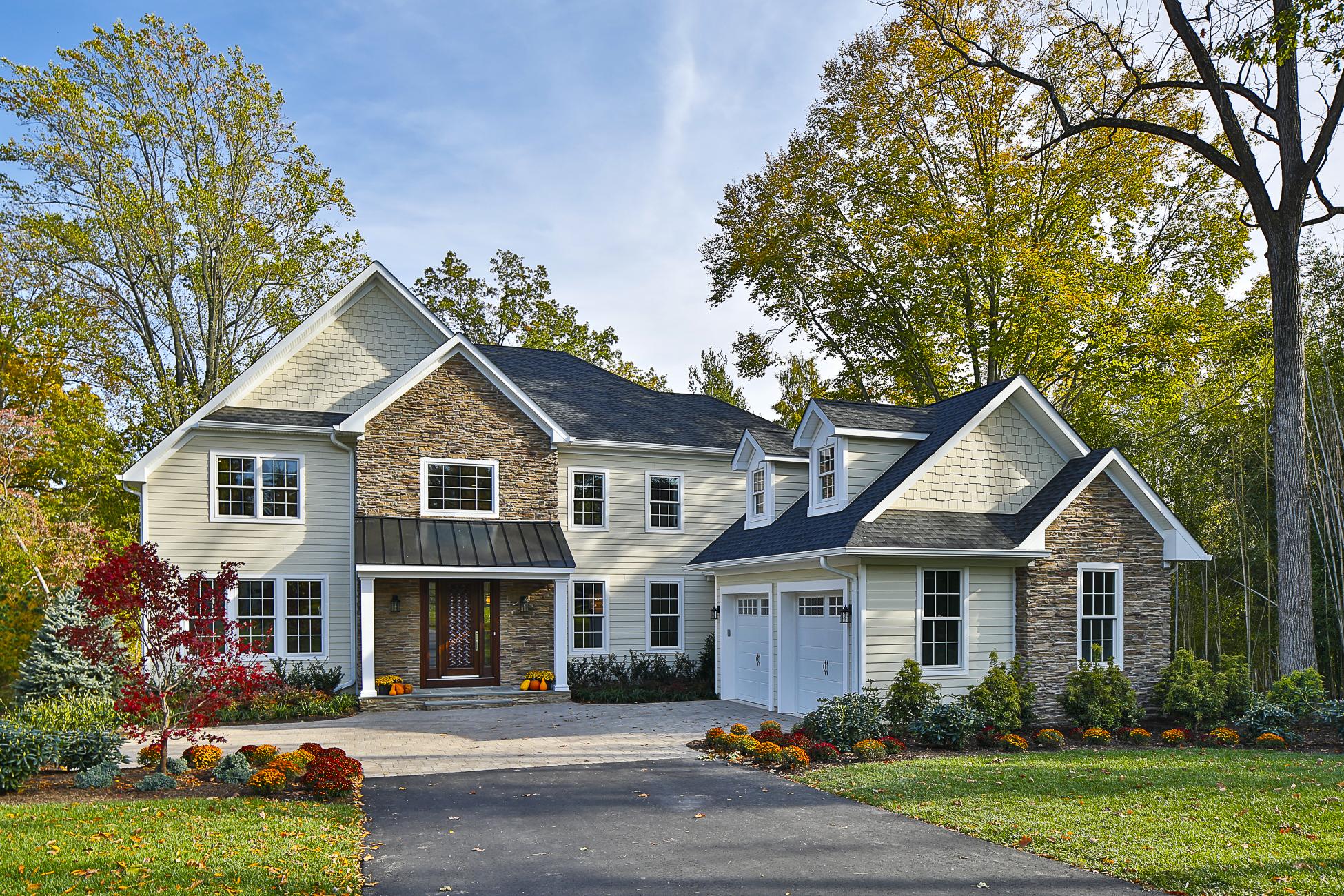 Maison unifamiliale pour l Vente à Gorgeous Details Sing in Impeccable Custom Home 223 Snowden Lane Princeton, New Jersey 08540 États-Unis