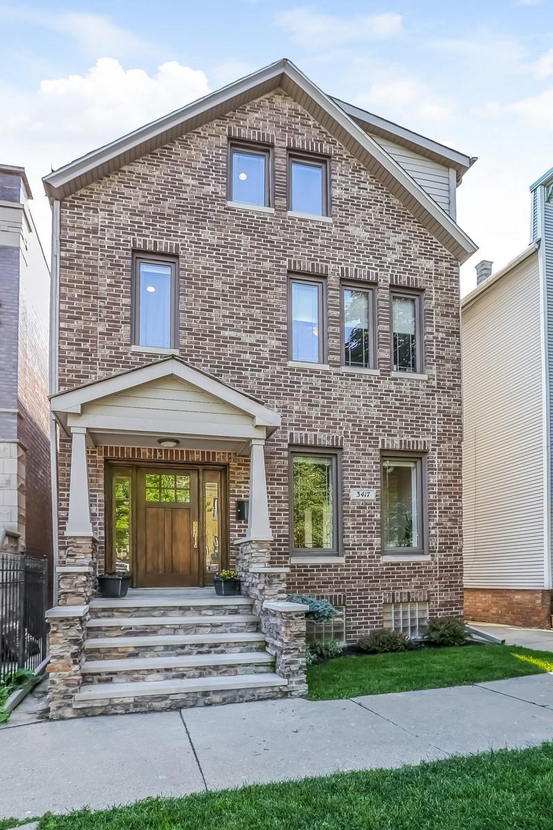 Tek Ailelik Ev için Satış at Recently Renovated Home in Roscoe Village 3417 N Oakley Avenue Chicago, Illinois, 60618 Amerika Birleşik Devletleri