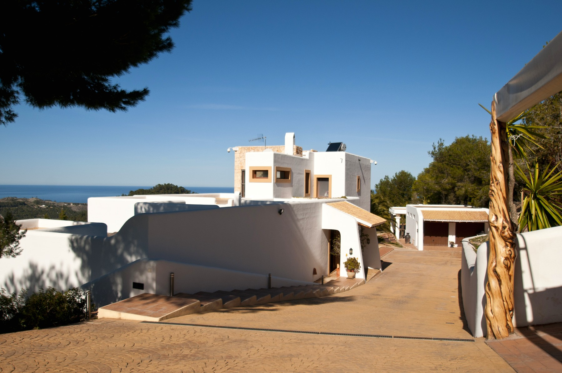 Single Family Home for Sale at Villa In The Tranquil North With Sea Views San Juan, Ibiza 07810 Spain